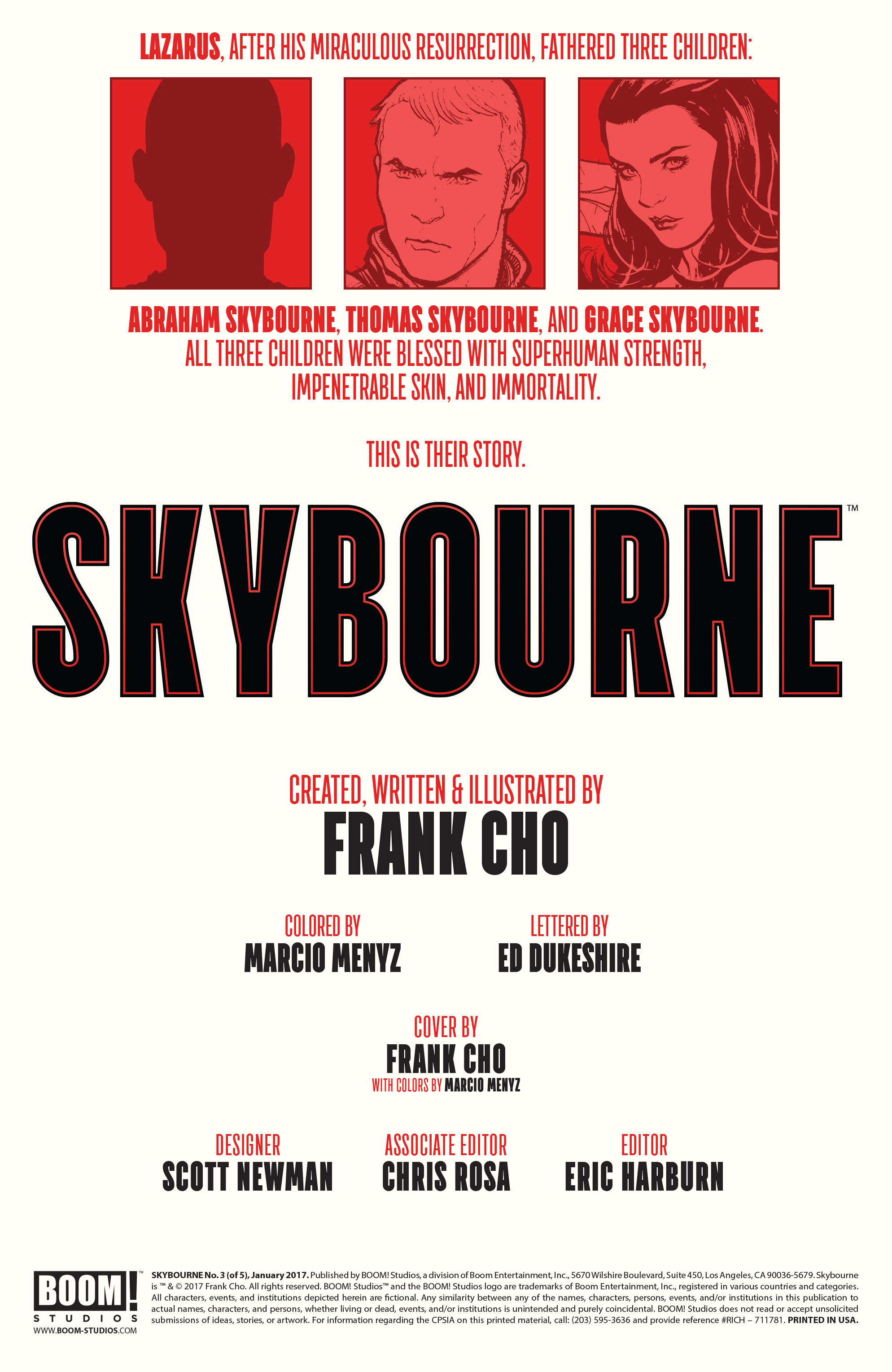 Read online Skybourne comic -  Issue #3 - 2