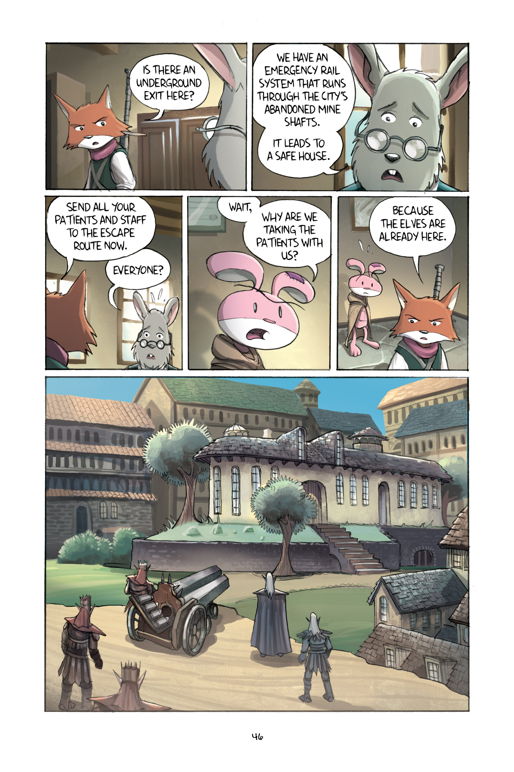 Read online Amulet comic -  Issue #2 - 48