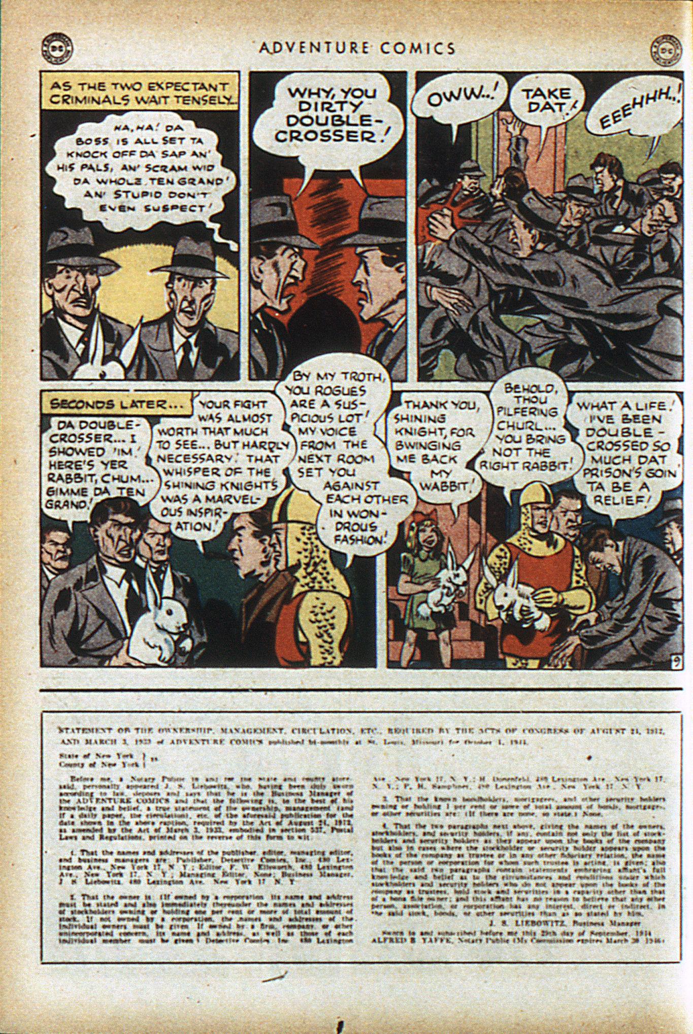 Read online Adventure Comics (1938) comic -  Issue #96 - 23