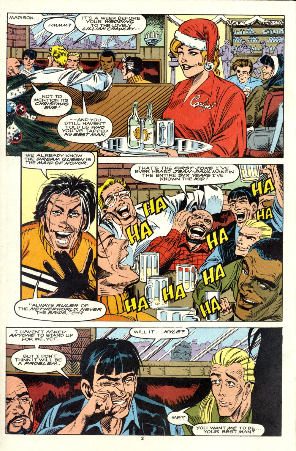 Read online Alpha Flight (1983) comic -  Issue #105 - 3