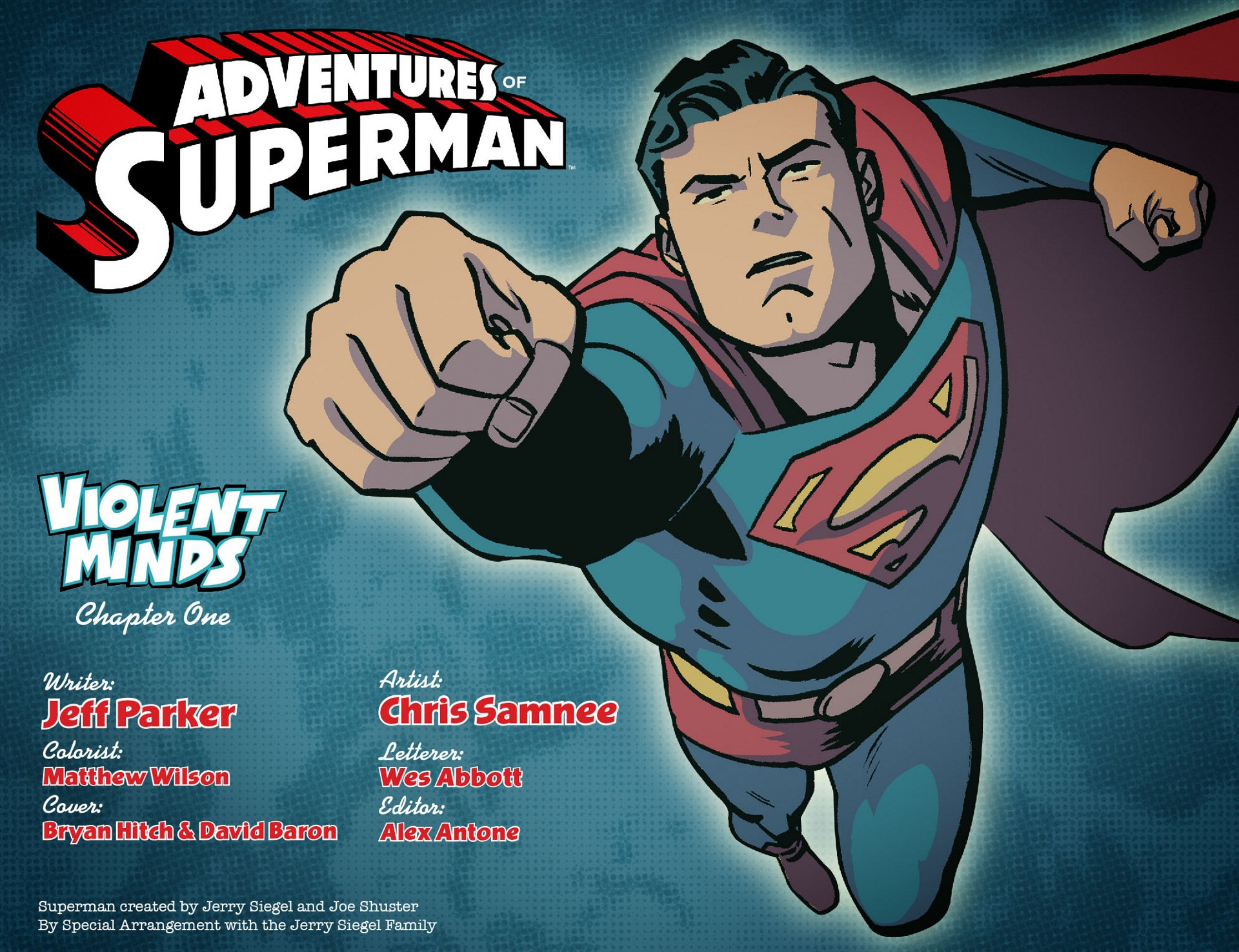 Read online Adventures of Superman [I] comic -  Issue #1 - 2