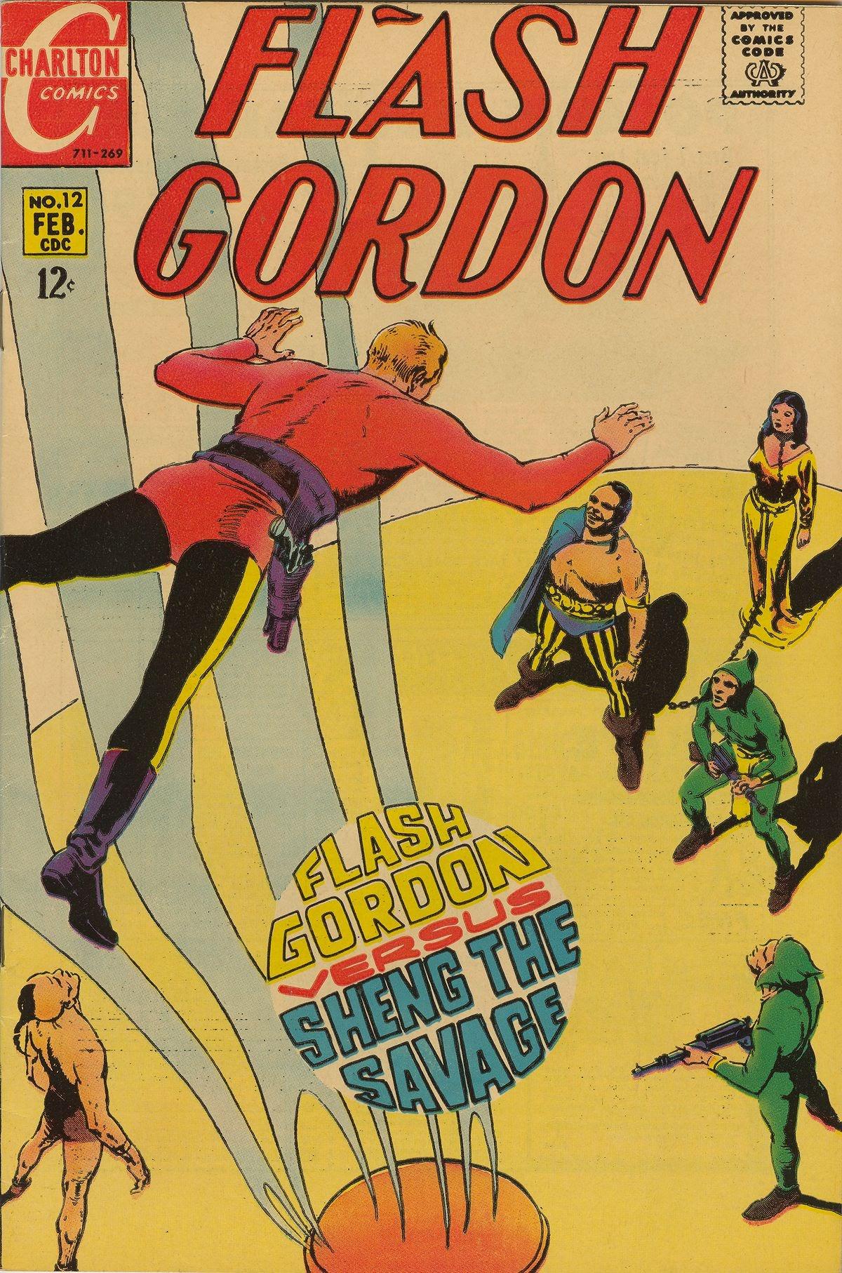 Flash Gordon (1969) issue 12 - Page 1