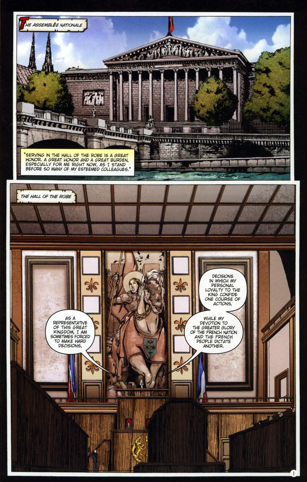 Read online Rex Mundi comic -  Issue #7 - 5