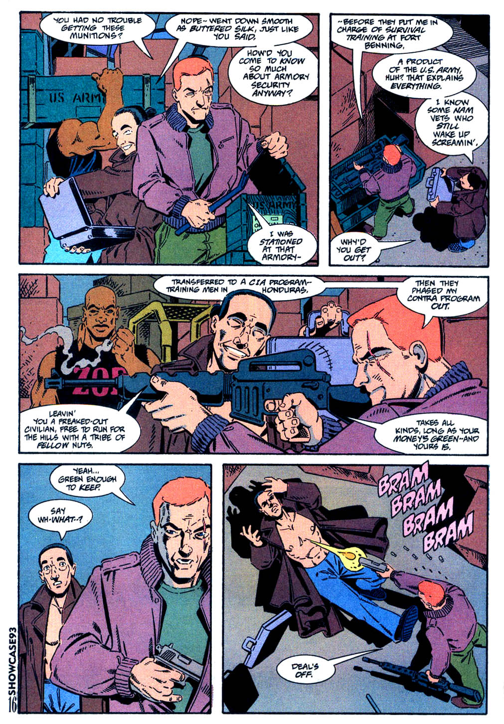 Read online Showcase '93 comic -  Issue #9 - 12