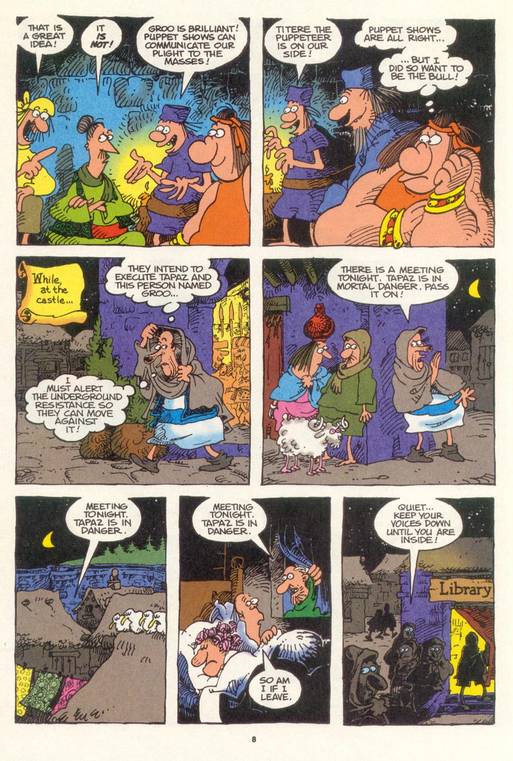 Read online Sergio Aragonés Groo the Wanderer comic -  Issue #107 - 10
