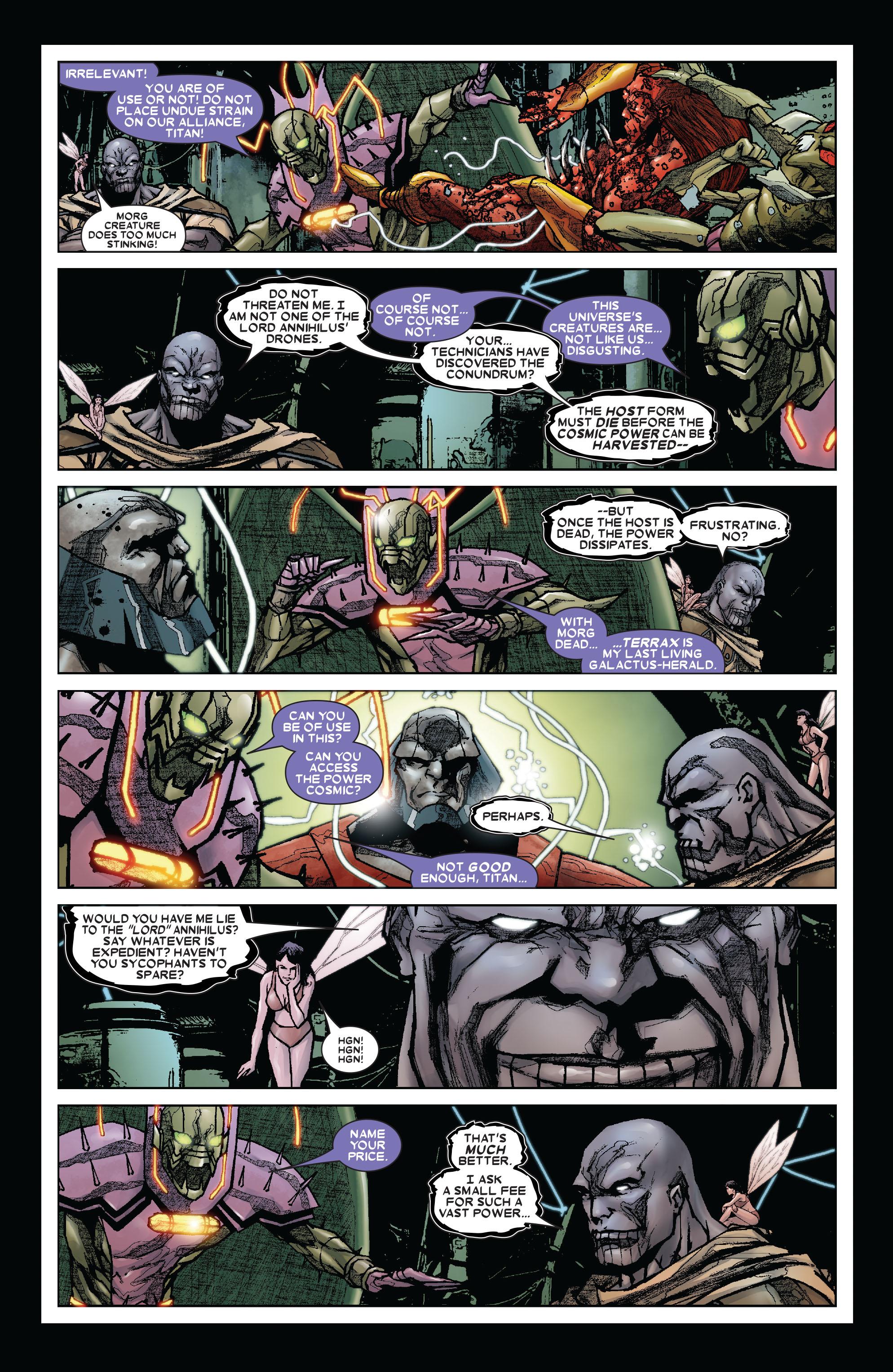 Read online Annihilation: Silver Surfer comic -  Issue #3 - 15