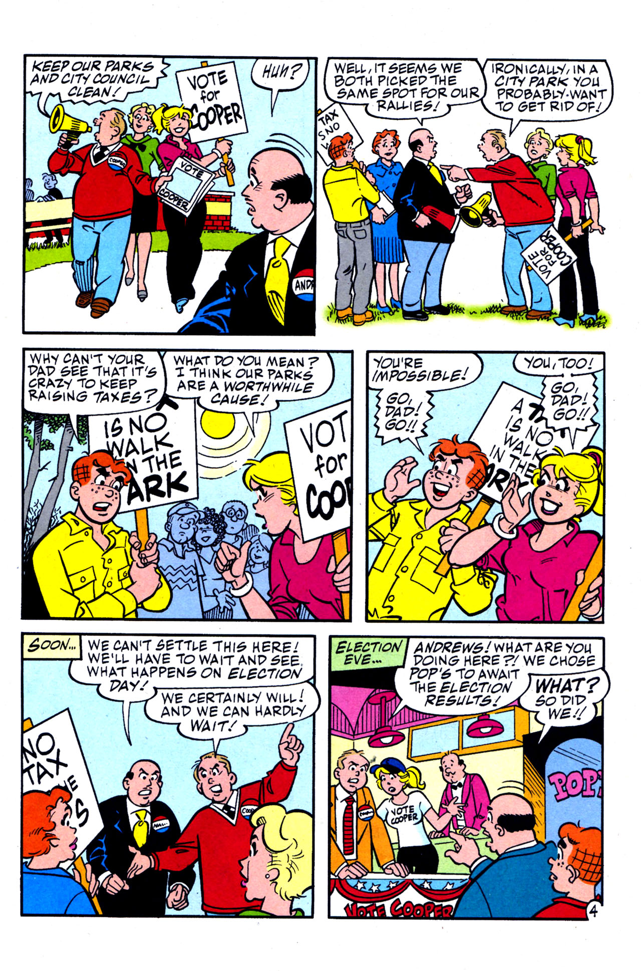 Read online Archie (1960) comic -  Issue #578 - 11