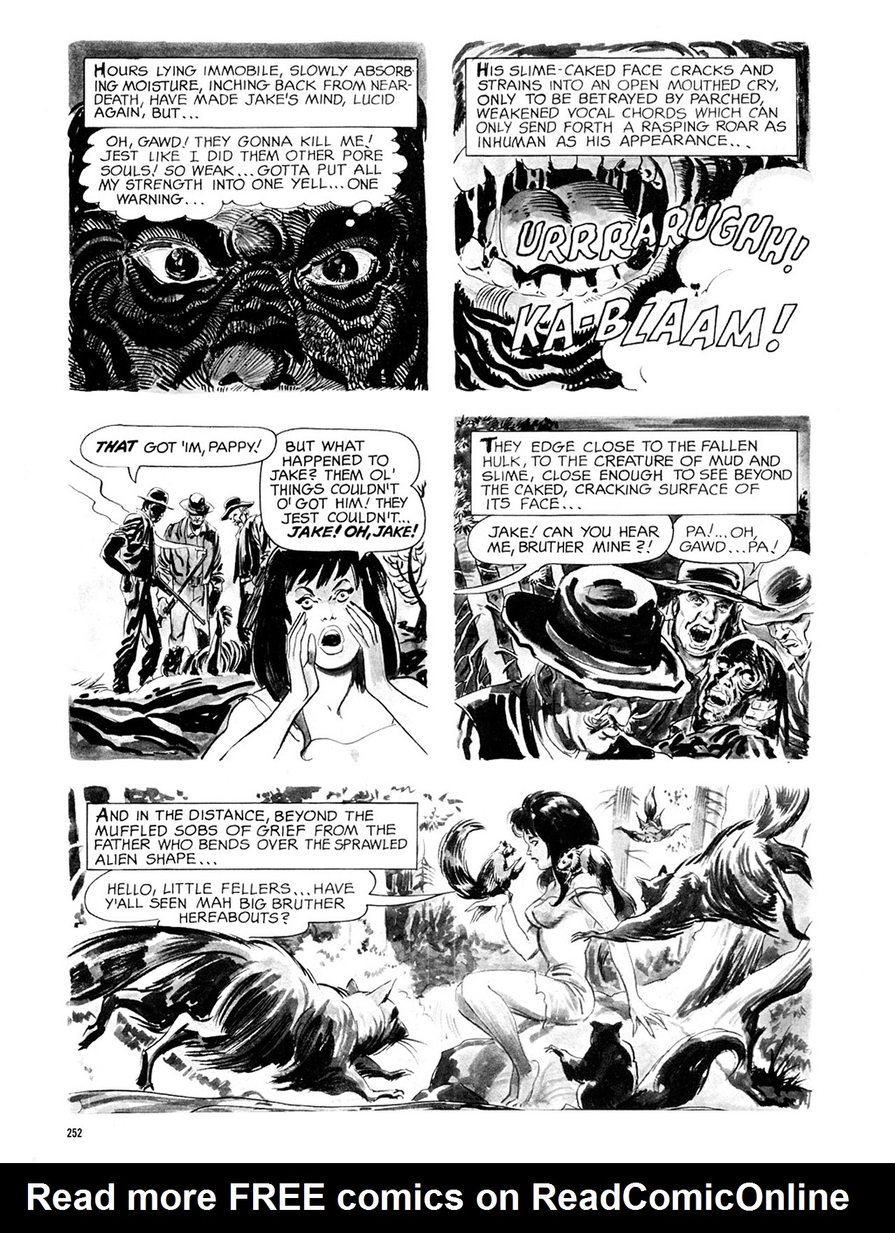Read online Eerie Archives comic -  Issue # TPB 2 - 253