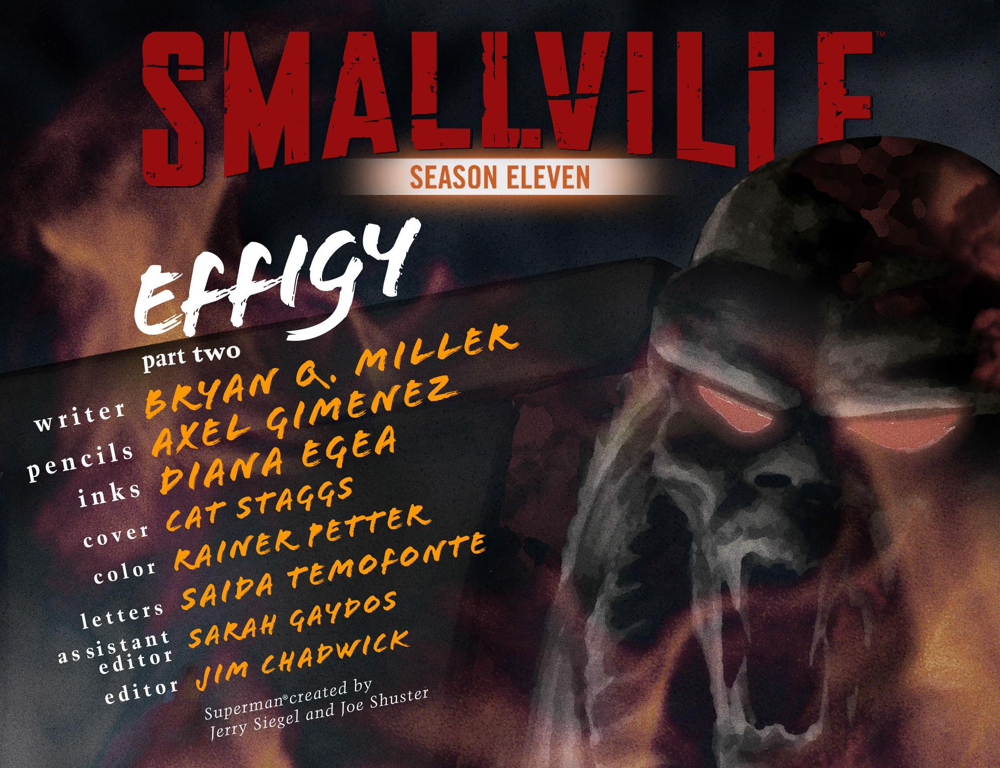 Read online Smallville: Season 11 comic -  Issue #32 - 2