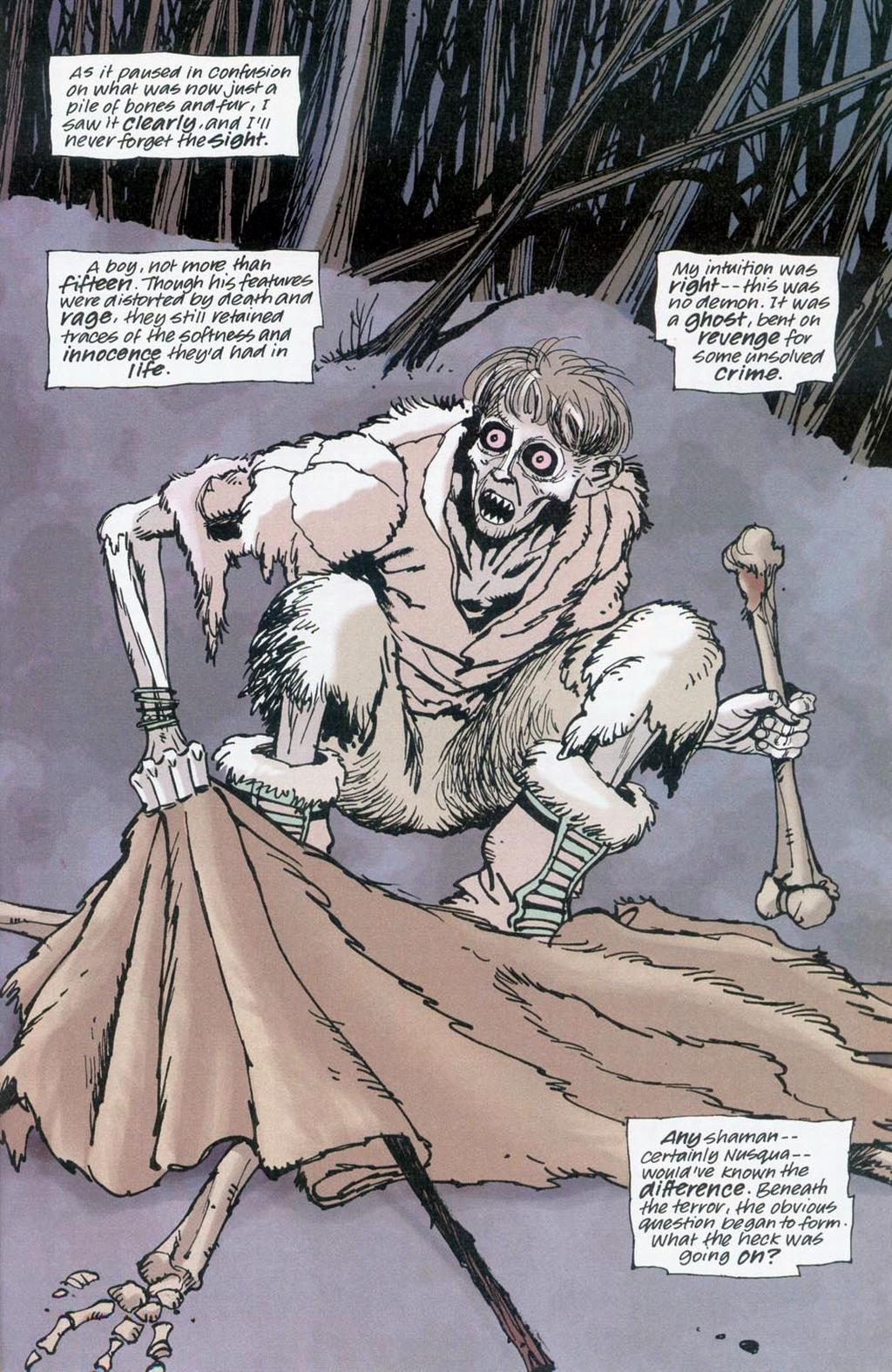 Muktuk Wolfsbreath: Hard-Boiled Shaman issue 1 - Page 15
