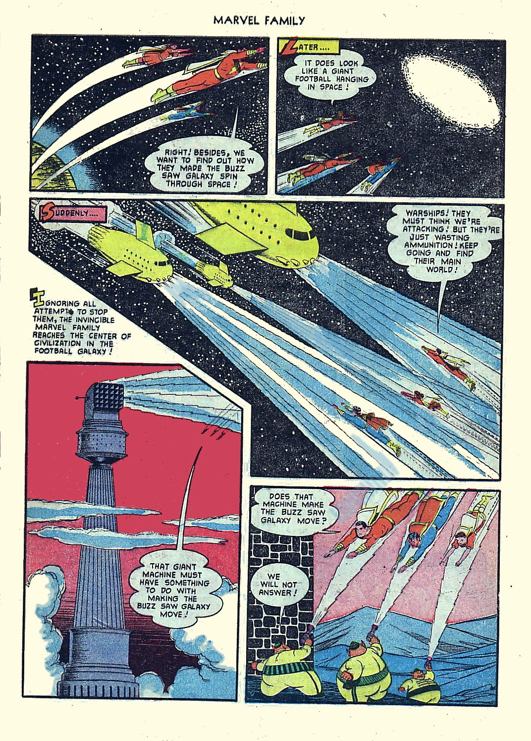 The Marvel Family issue 61 - Page 9