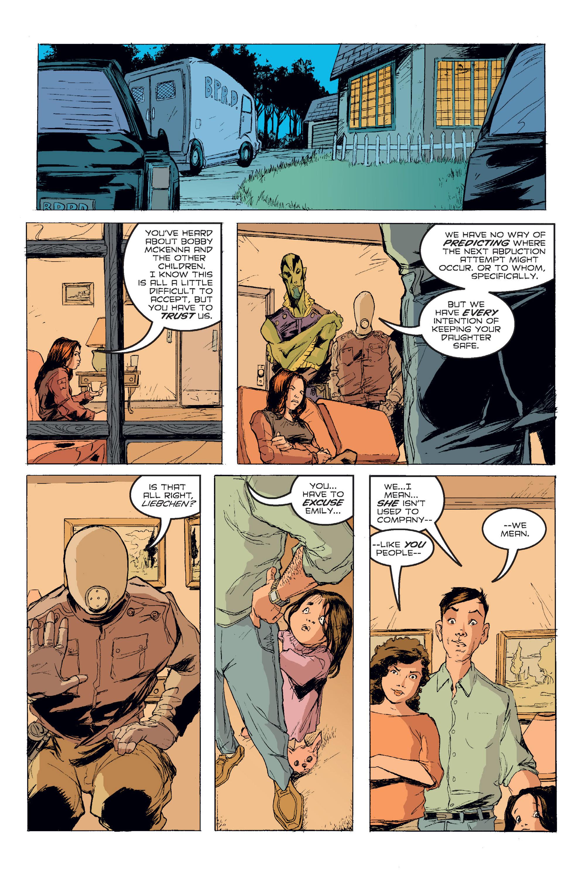 Read online B.P.R.D. (2003) comic -  Issue # TPB 2 - 89