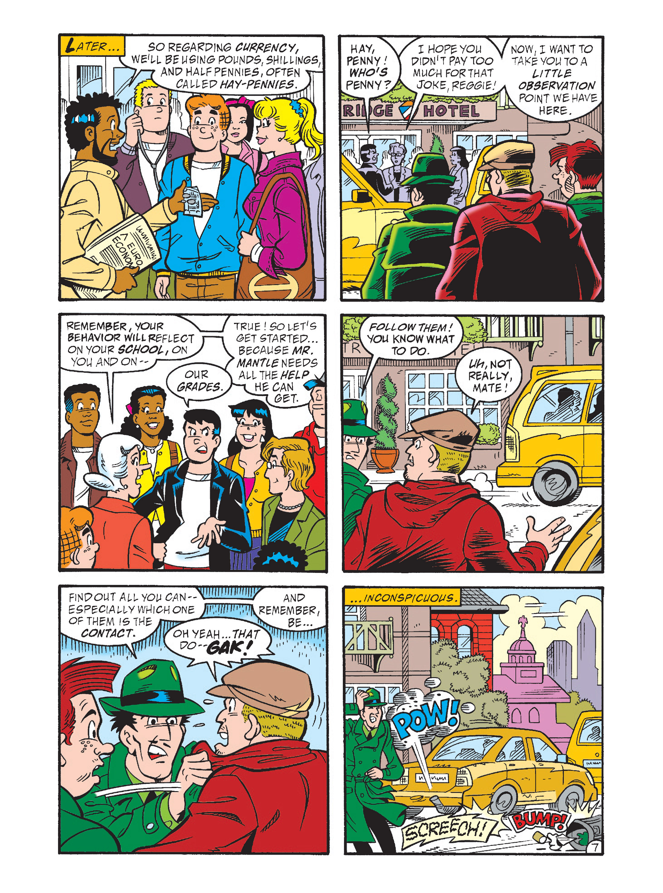 Read online Archie's Funhouse Double Digest comic -  Issue #1 - 42