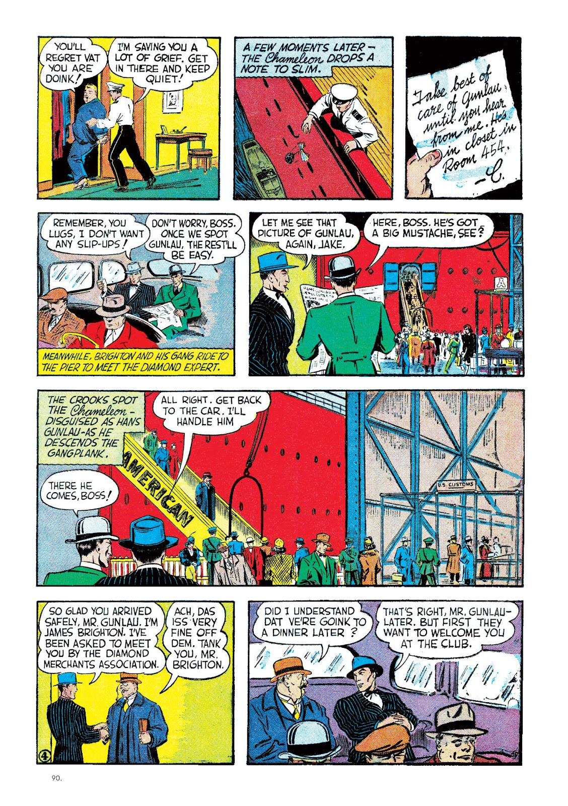 Read online The Bill Everett Archives comic -  Issue # TPB 2 (Part 1) - 91