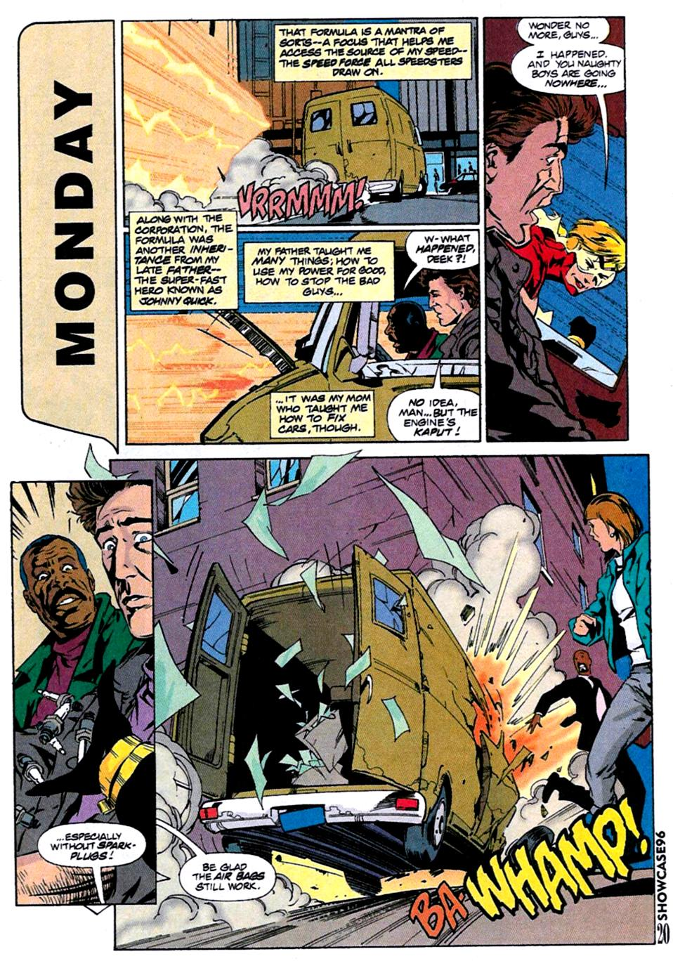 Read online Showcase '96 comic -  Issue #12 - 21