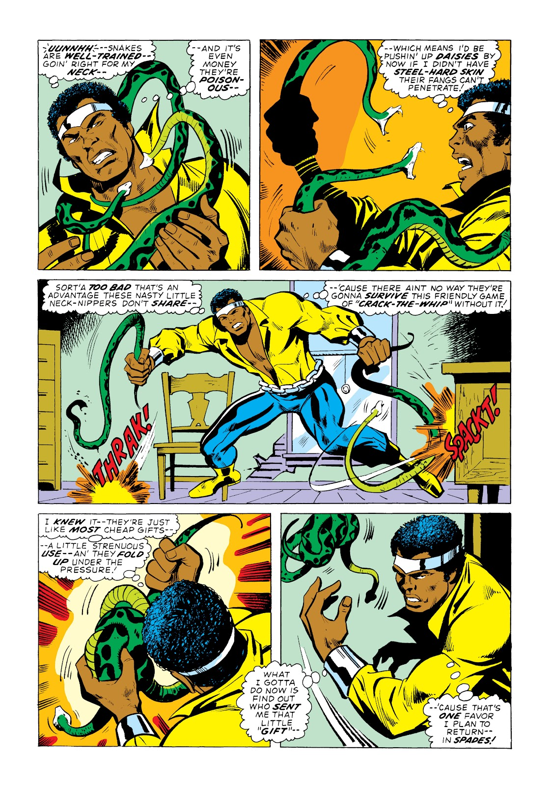 Read online Marvel Masterworks: Luke Cage, Power Man comic -  Issue # TPB 2 (Part 1) - 51