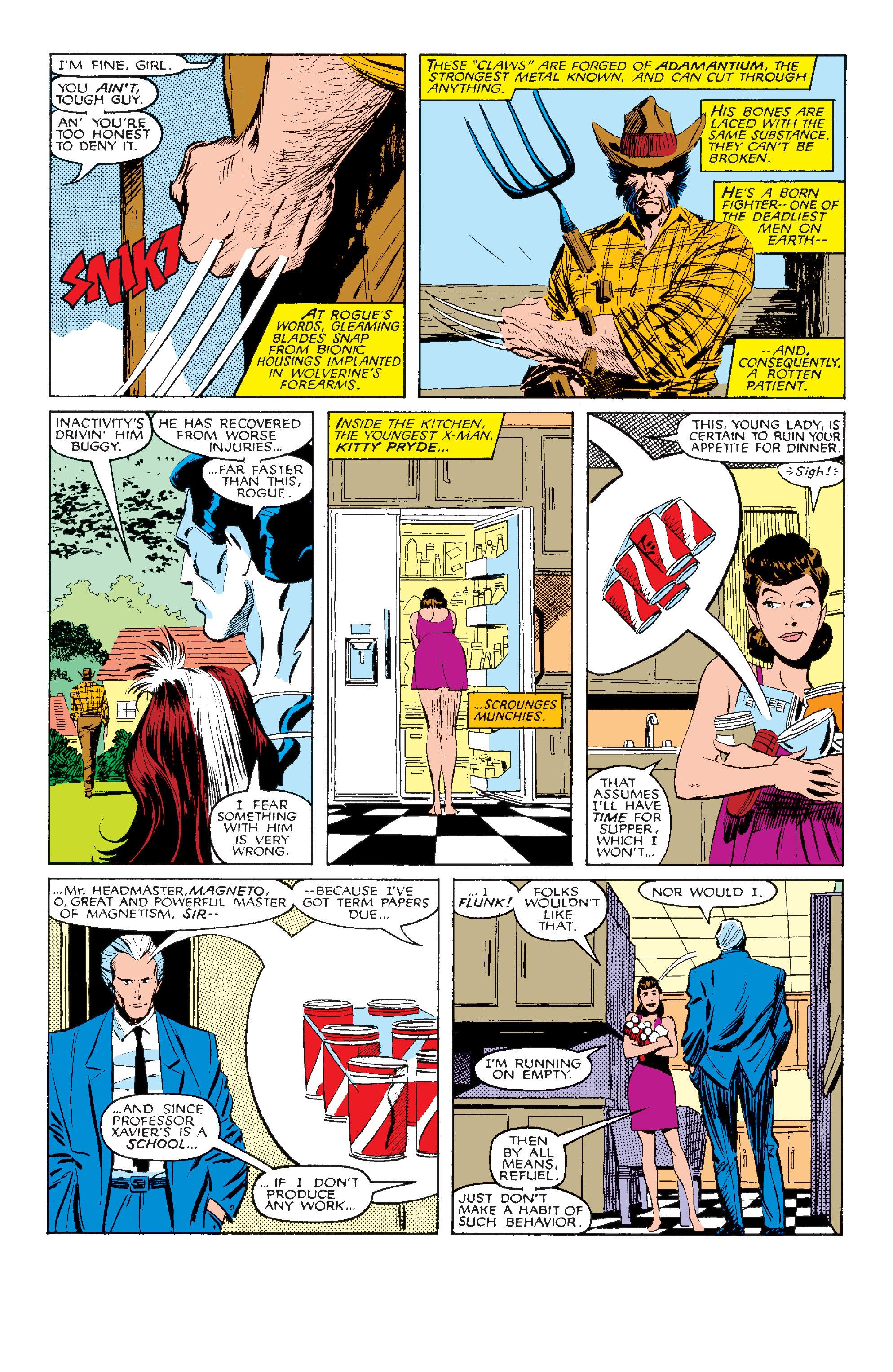 Read online Uncanny X-Men (1963) comic -  Issue #211 - 8