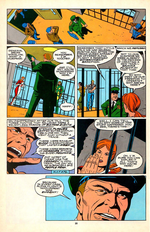 Read online Alpha Flight (1983) comic -  Issue #81 - 17