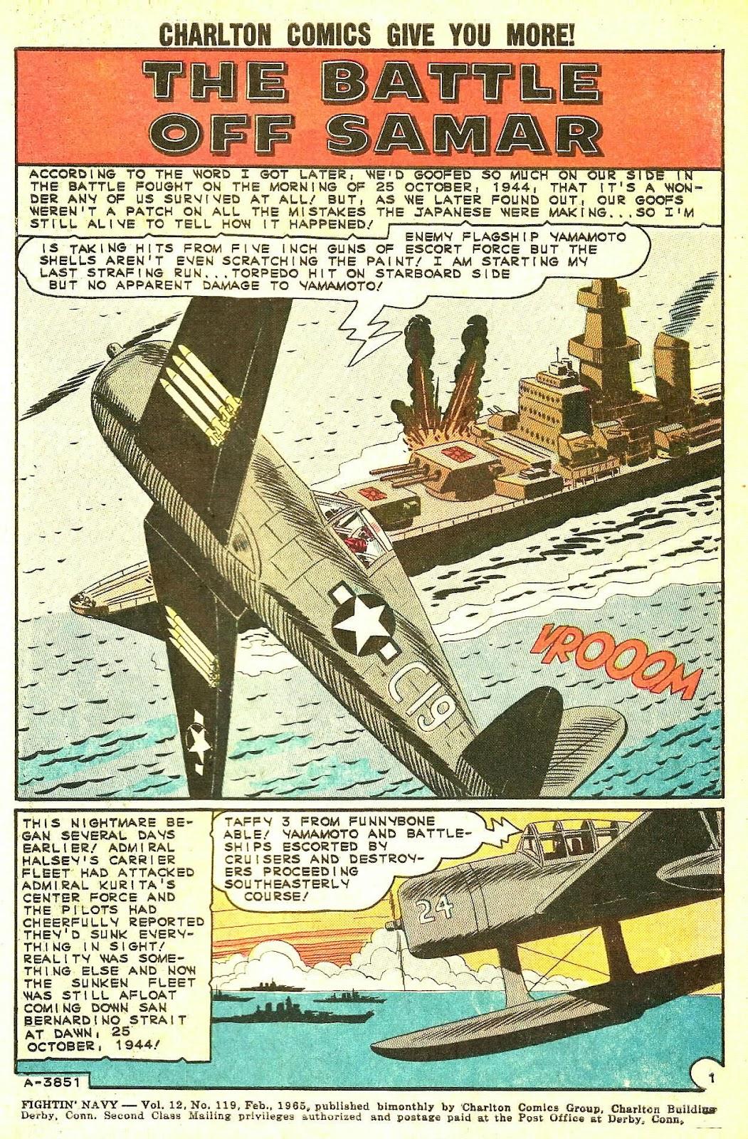 Read online Fightin' Navy comic -  Issue #119 - 3
