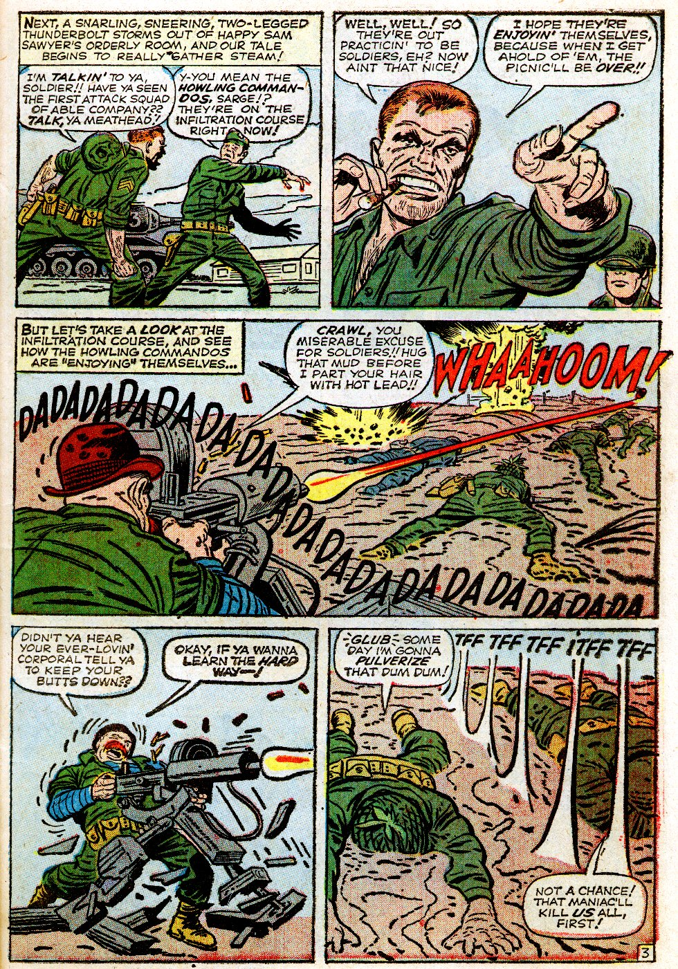 Read online Sgt. Fury comic -  Issue #1 - 7