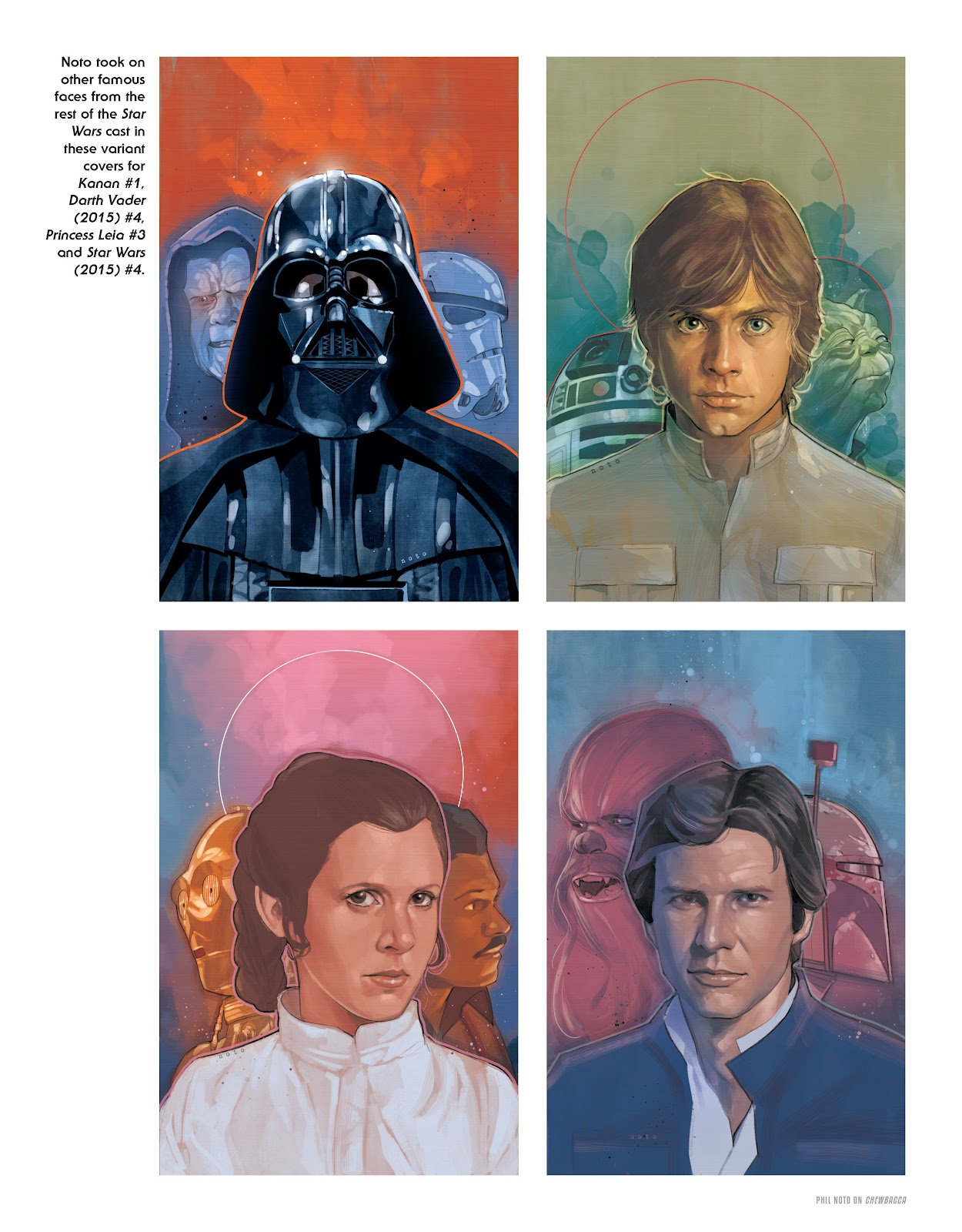 Read online The Marvel Art of Star Wars comic -  Issue # TPB (Part 2) - 55