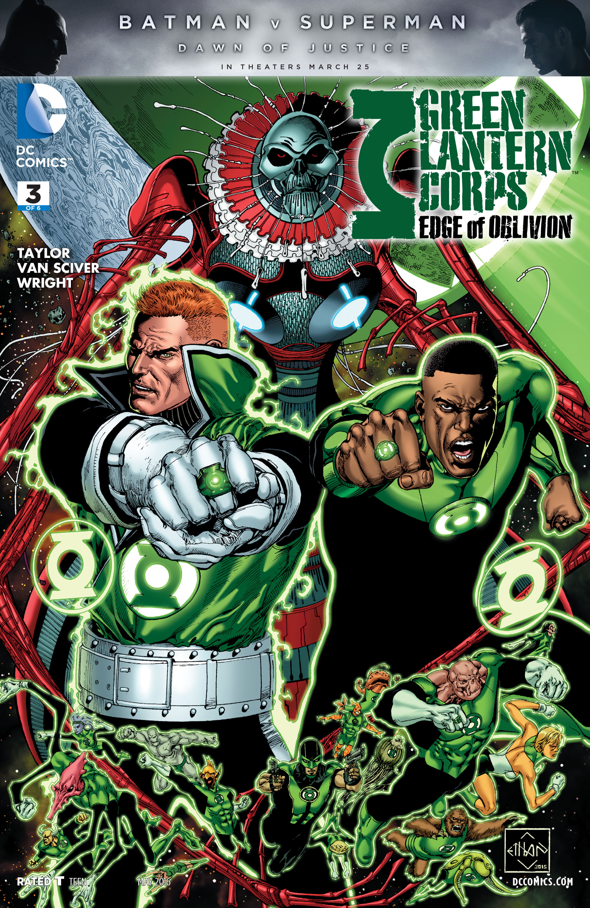 Green Lantern Corps: Edge of Oblivion 3 Page 1