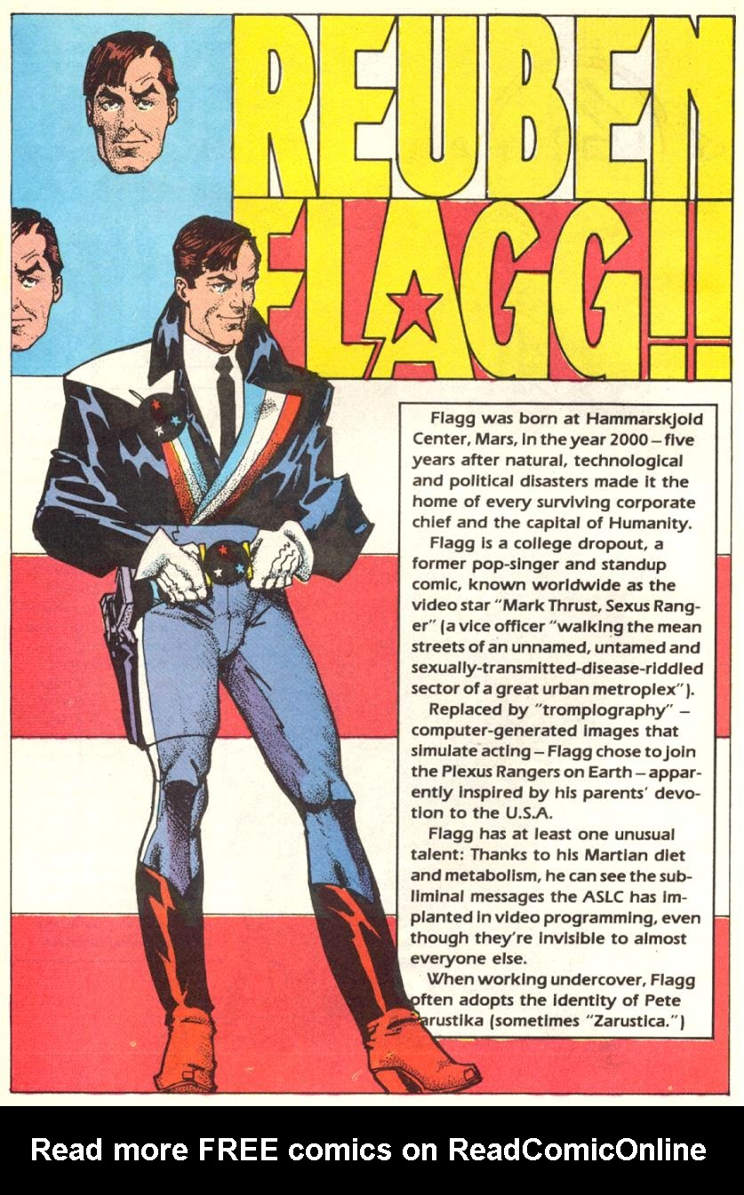 Read online American Flagg! comic -  Issue #15 - 27