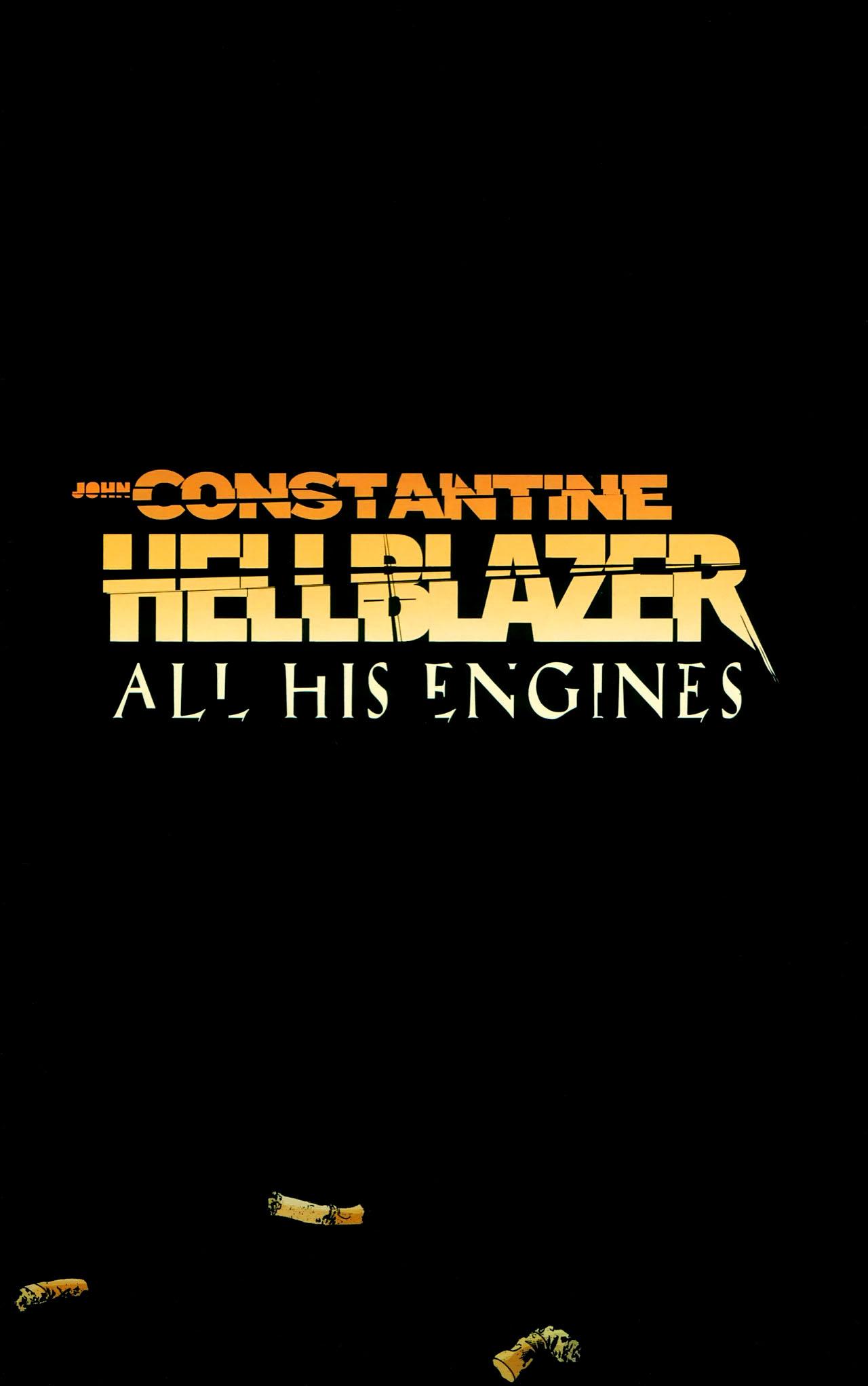 Read online John Constantine Hellblazer: All His Engines comic -  Issue # Full - 3