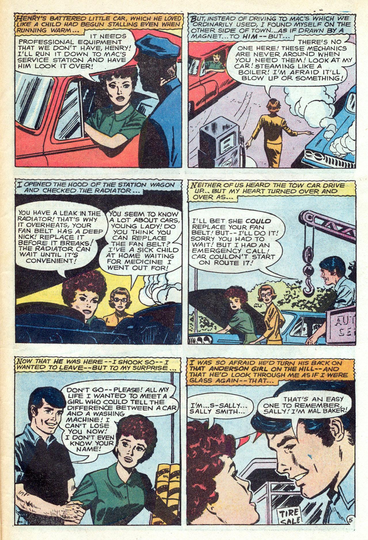 Read online Secret Hearts comic -  Issue #149 - 31