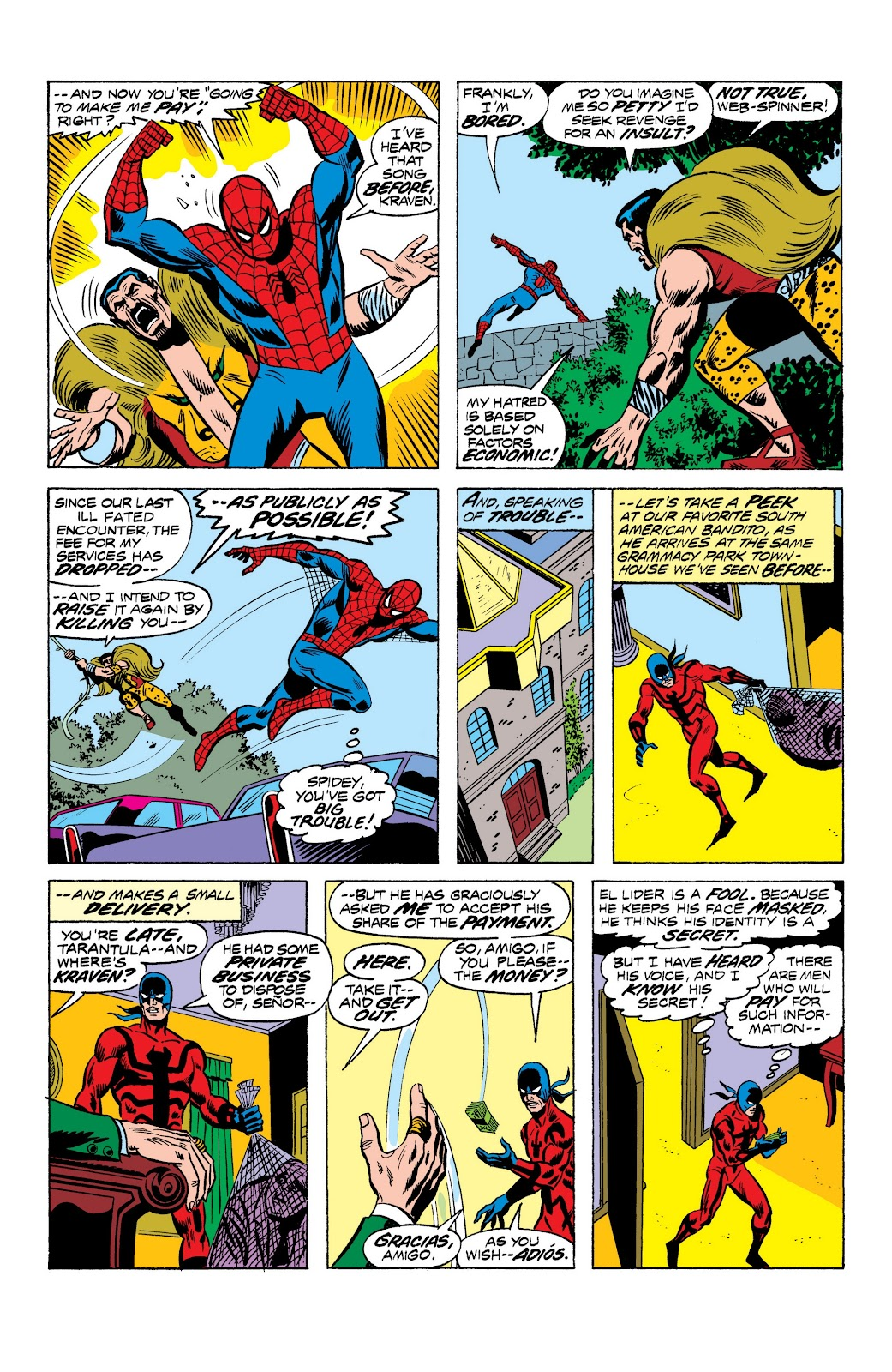 Read online Marvel Masterworks: The Spectacular Spider-Man comic -  Issue # TPB (Part 1) - 40