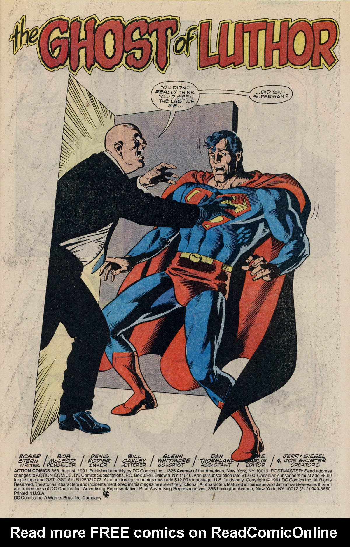 Read online Action Comics (1938) comic -  Issue #668 - 3