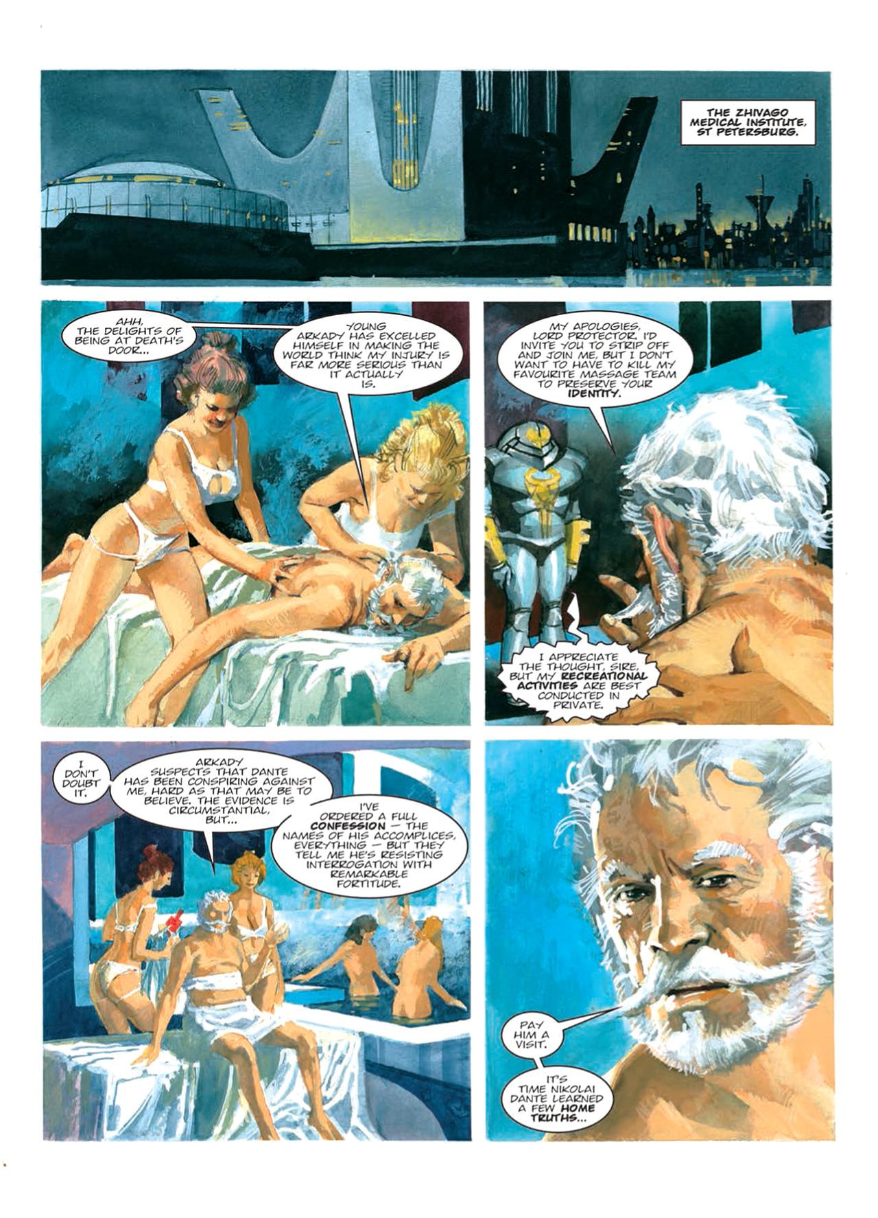 Read online Nikolai Dante comic -  Issue # TPB 9 - 78