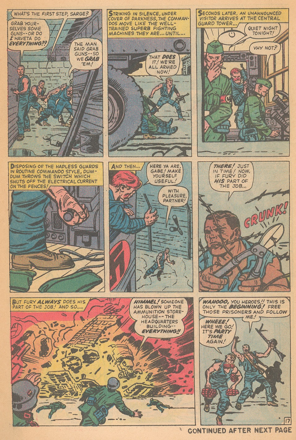 Read online Sgt. Fury comic -  Issue #95 - 24