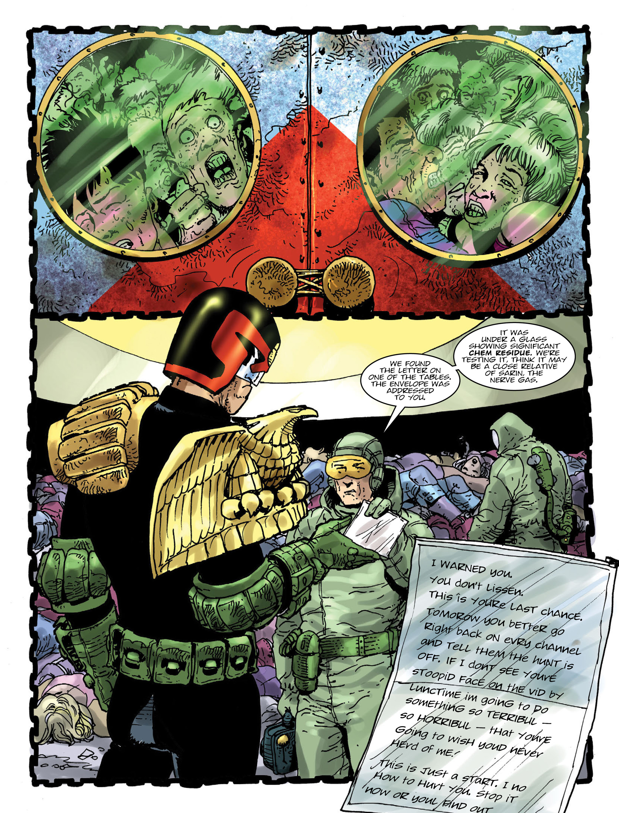 Read online 2000 AD comic -  Issue #1995 - 5