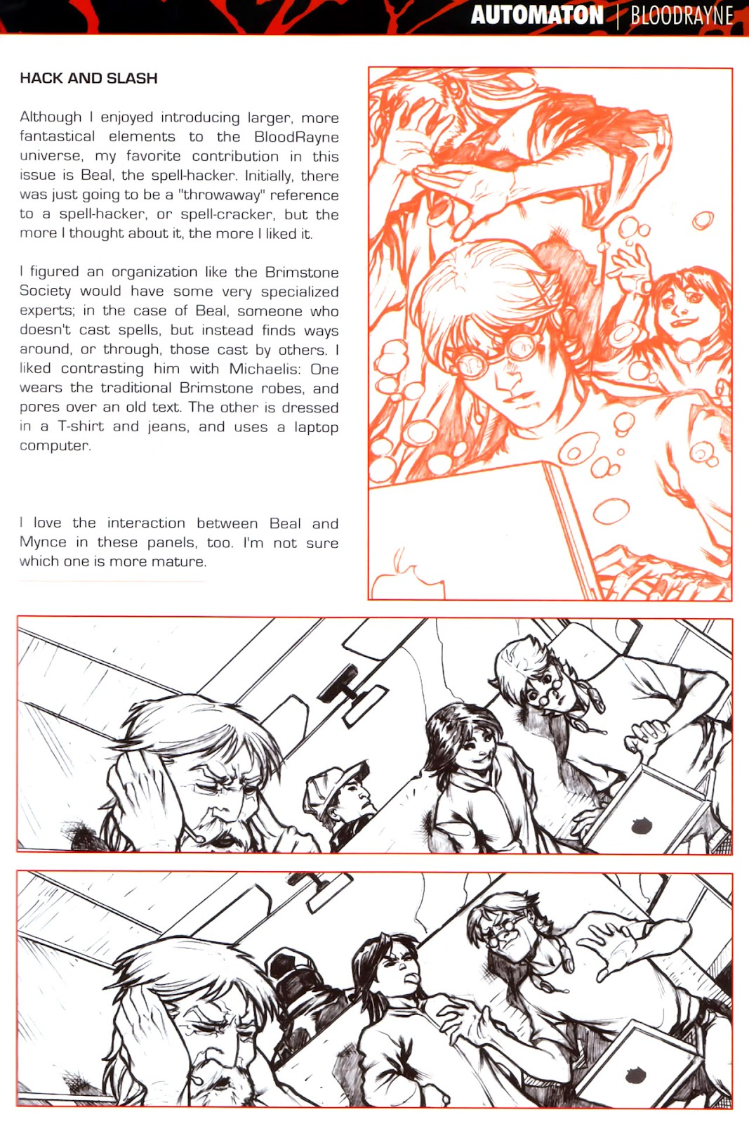 BloodRayne: Automaton issue Full - Page 31