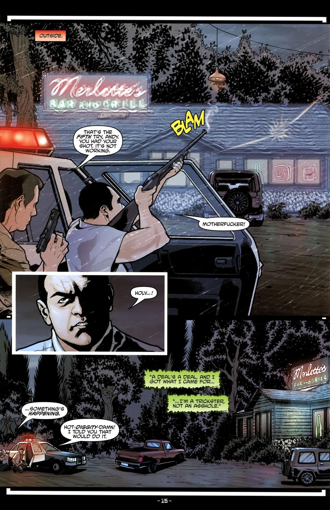 Read online True Blood (2010) comic -  Issue #6 - 18