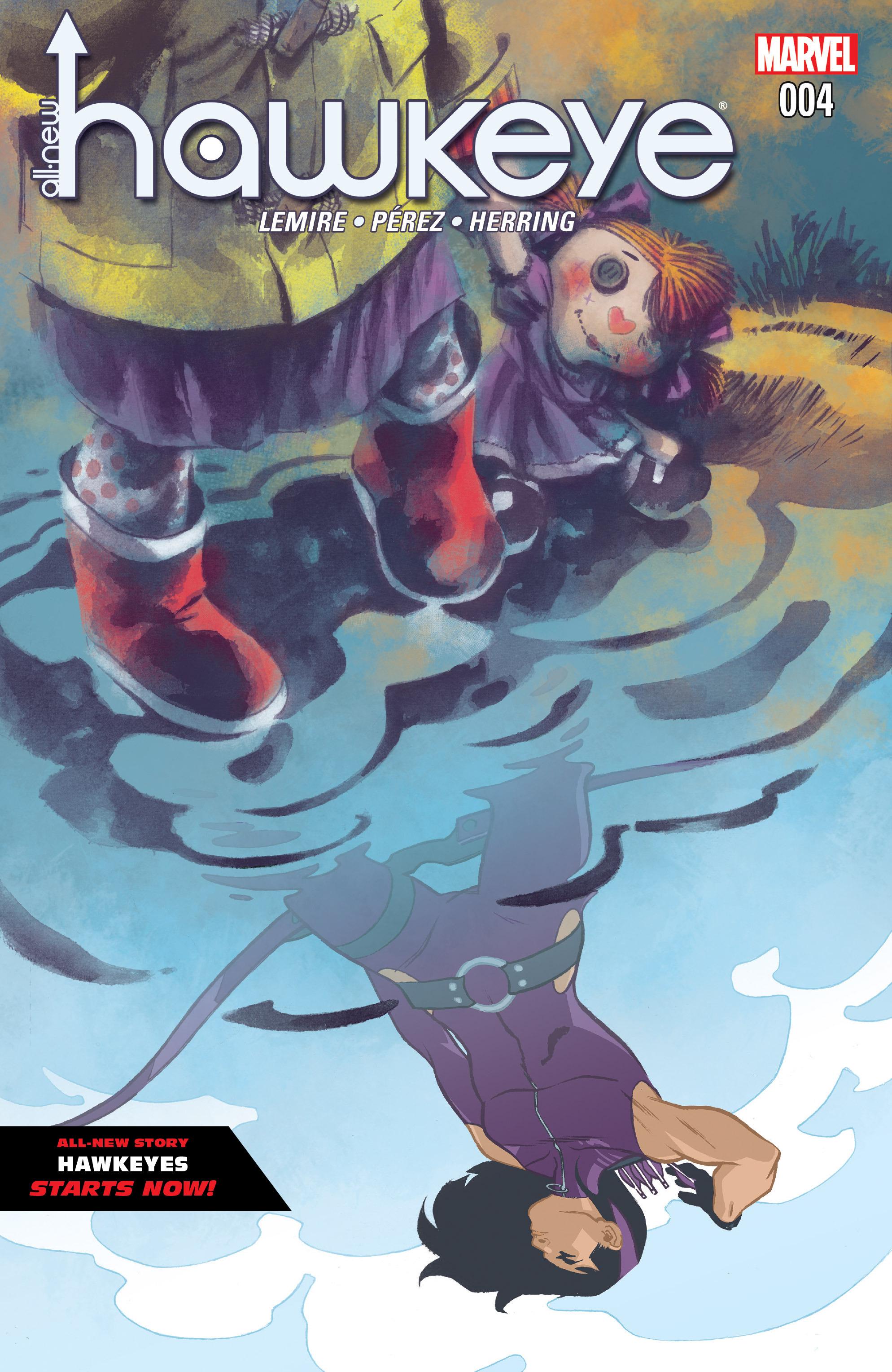 Read online All-New Hawkeye (2016) comic -  Issue #4 - 1