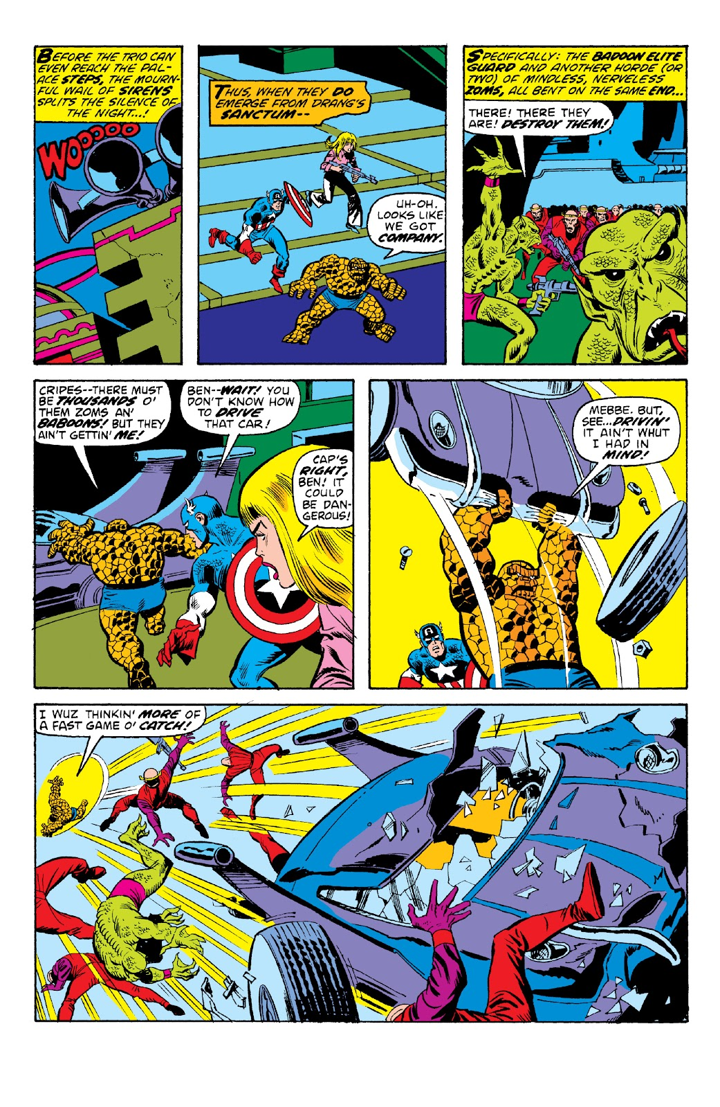 Read online Marvel Two-In-One Epic Collection: Cry Monster comic -  Issue # TPB (Part 2) - 29