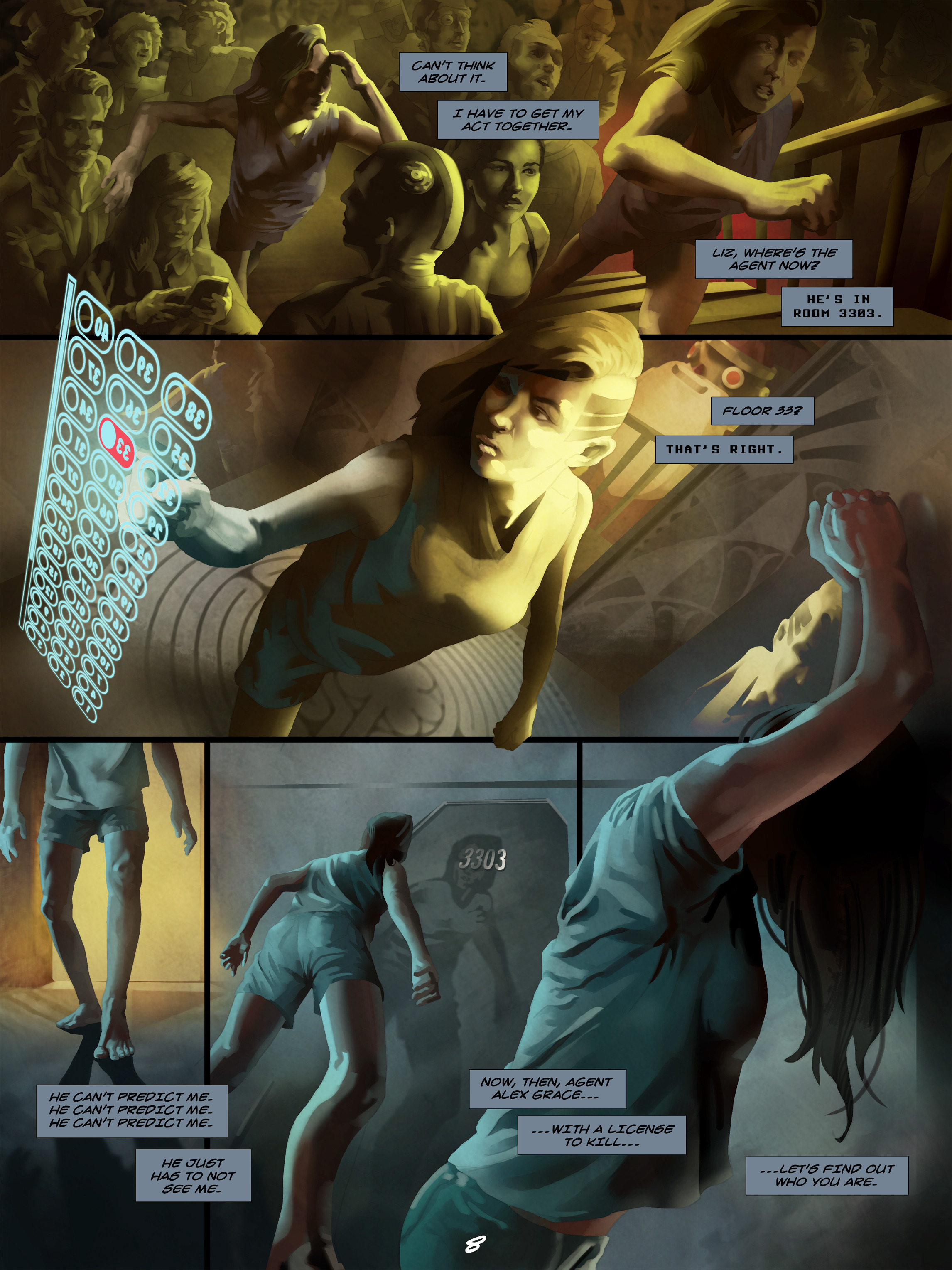 Read online Wynter comic -  Issue #5 - 9