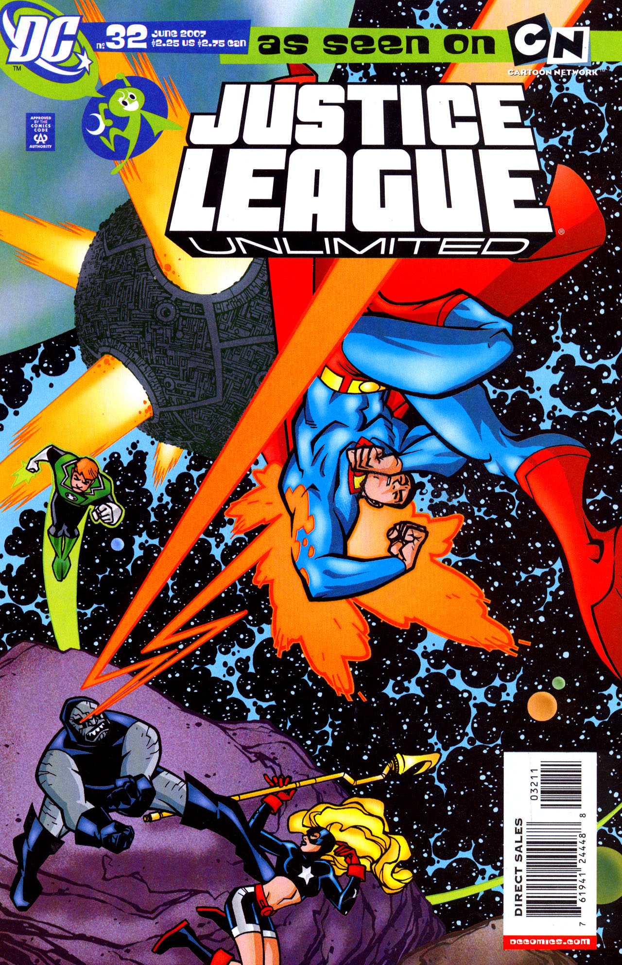 Justice League Unlimited 32 Page 1