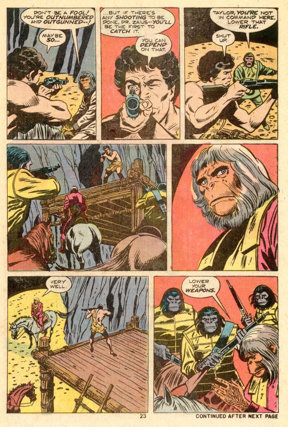 Read online Adventures on the Planet of the Apes comic -  Issue #5 - 16