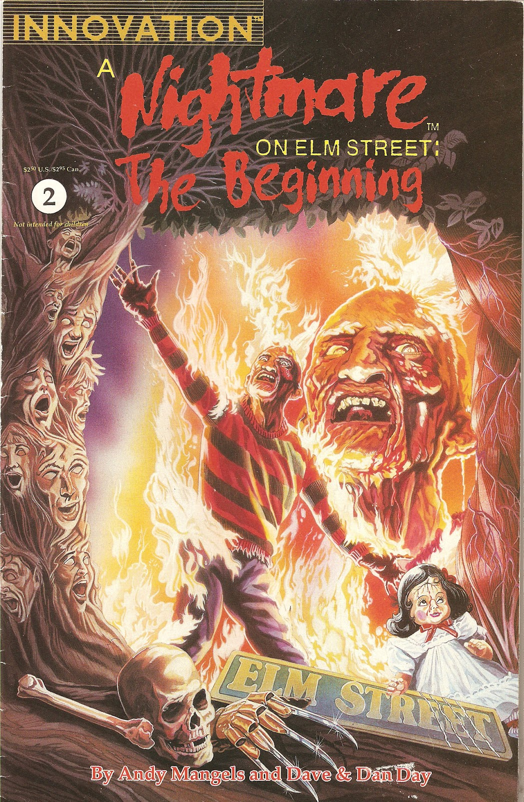 Read online A Nightmare on Elm Street: The Beginning comic -  Issue #2 - 1