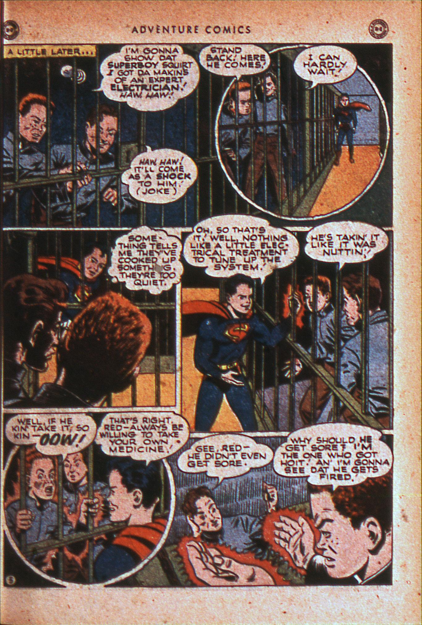 Read online Adventure Comics (1938) comic -  Issue #124 - 8