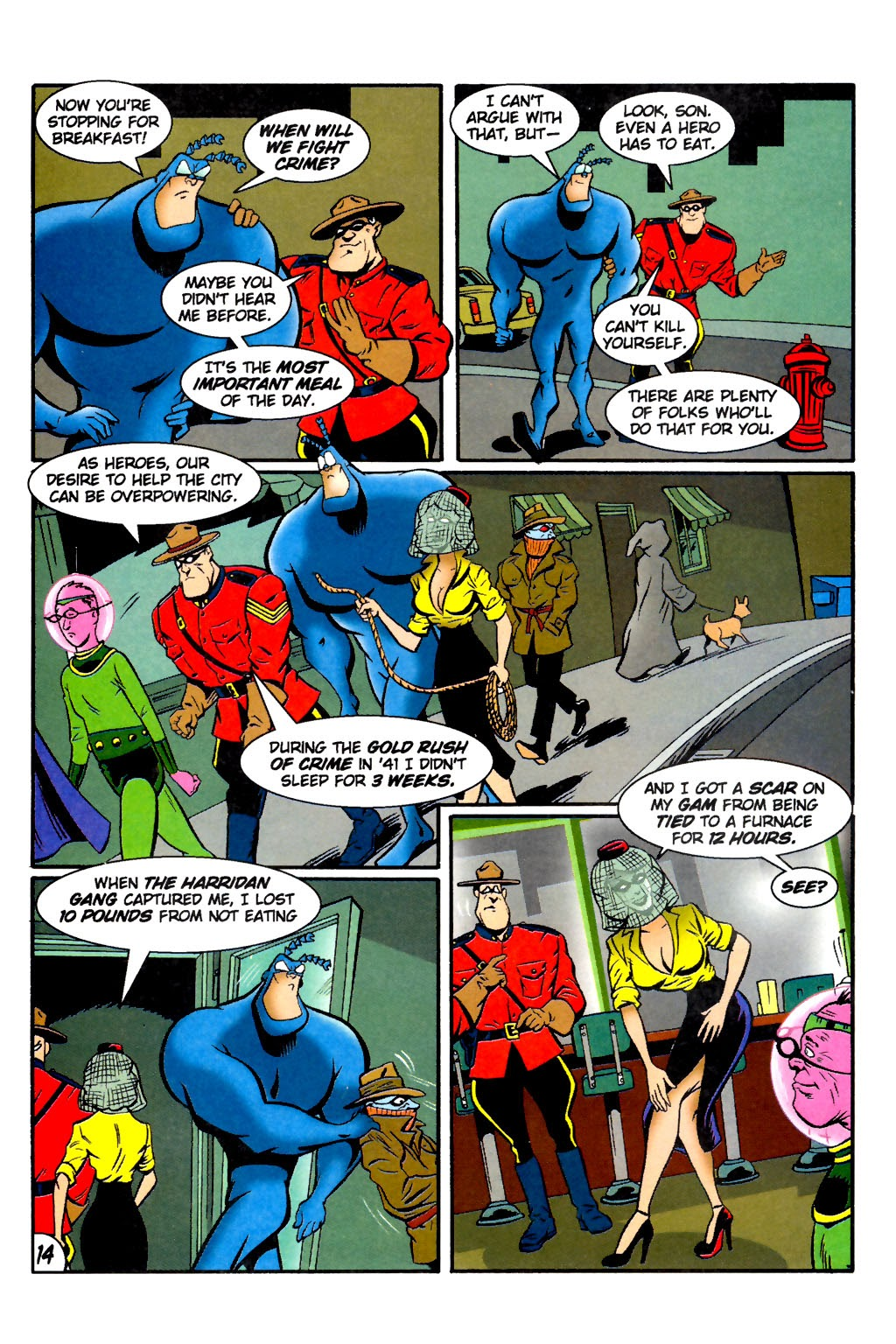 Read online The Tick: Days of Drama comic -  Issue #2 - 16