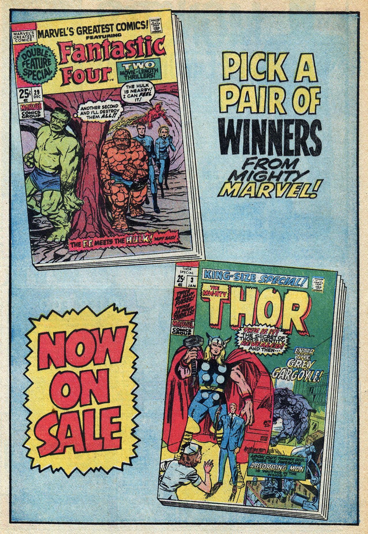 Read online Amazing Adventures (1970) comic -  Issue #3 - 32