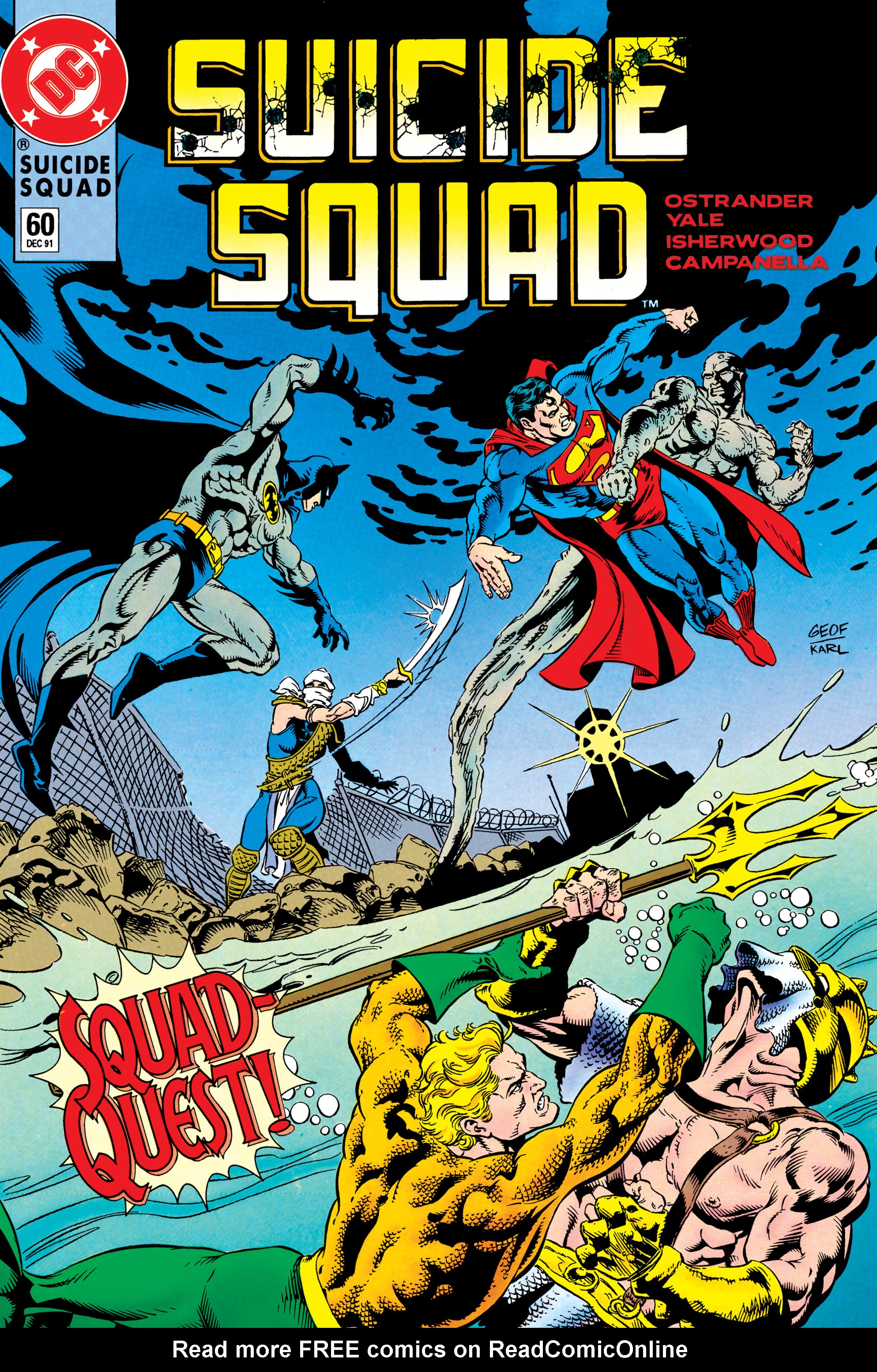 Suicide Squad (1987) issue 60 - Page 1