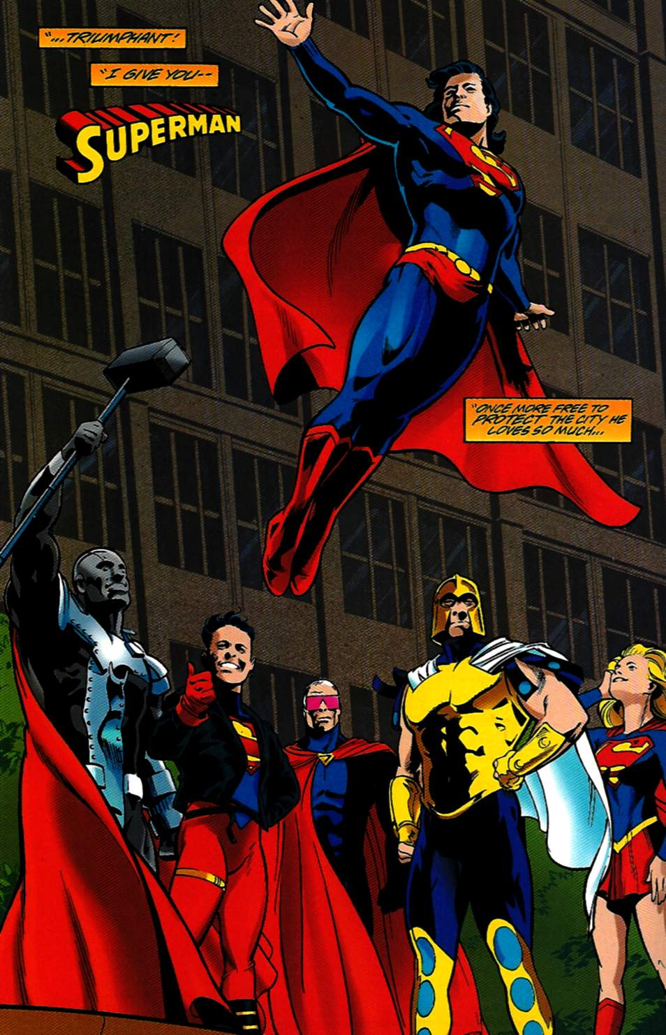 Read online Adventures of Superman (1987) comic -  Issue #531 - 22