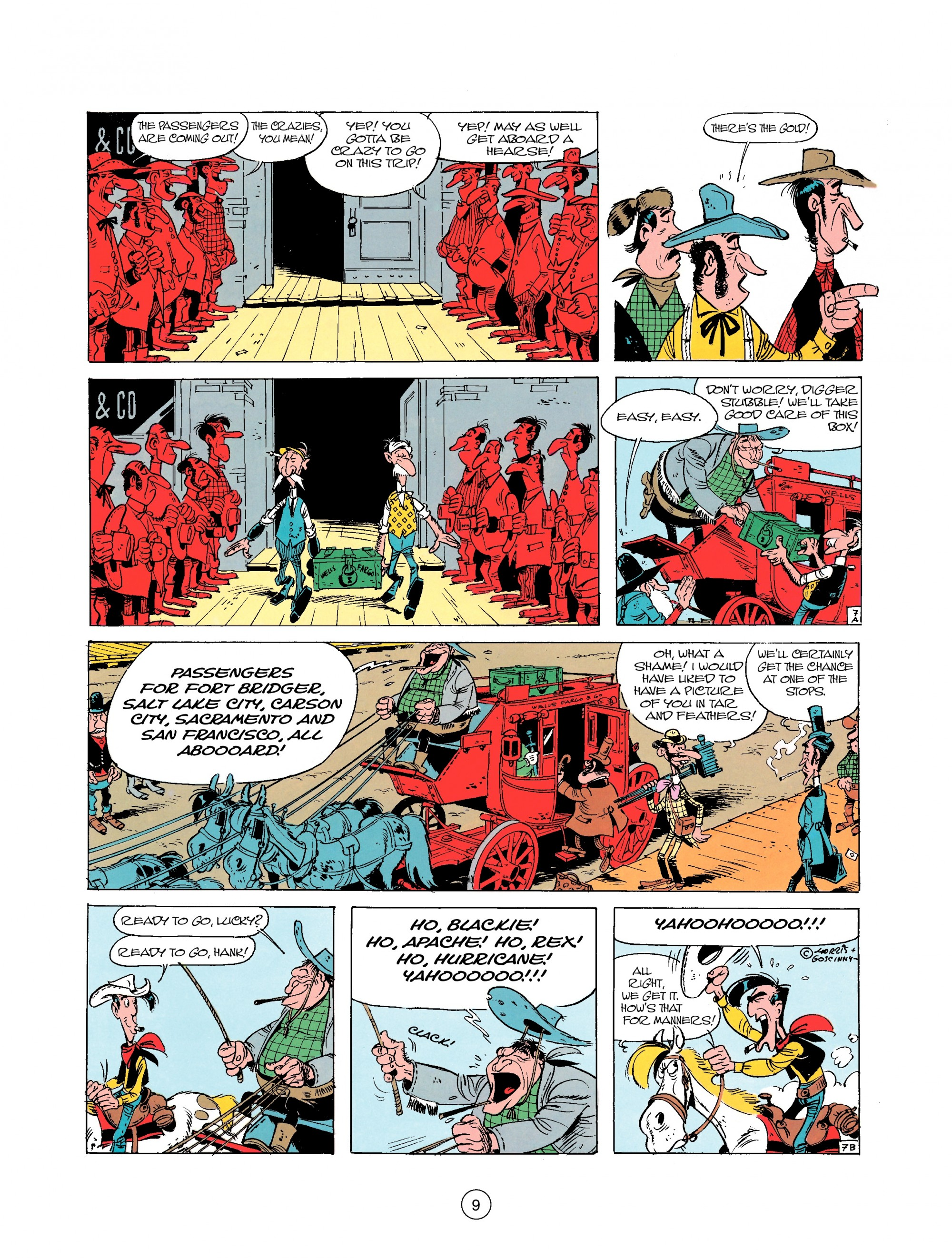 Read online A Lucky Luke Adventure comic -  Issue #25 - 9