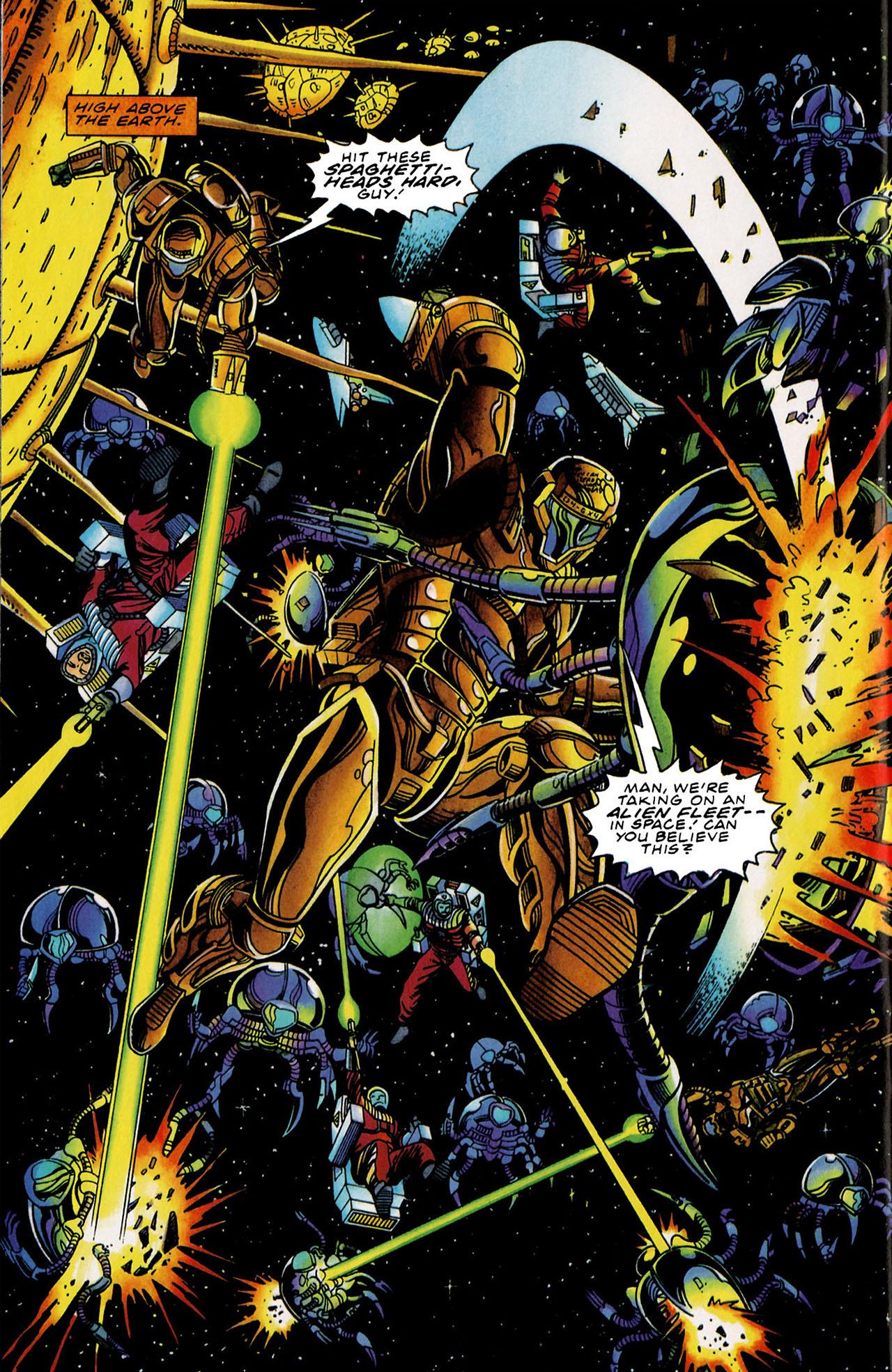 Read online Harbinger (1992) comic -  Issue #34 - 20