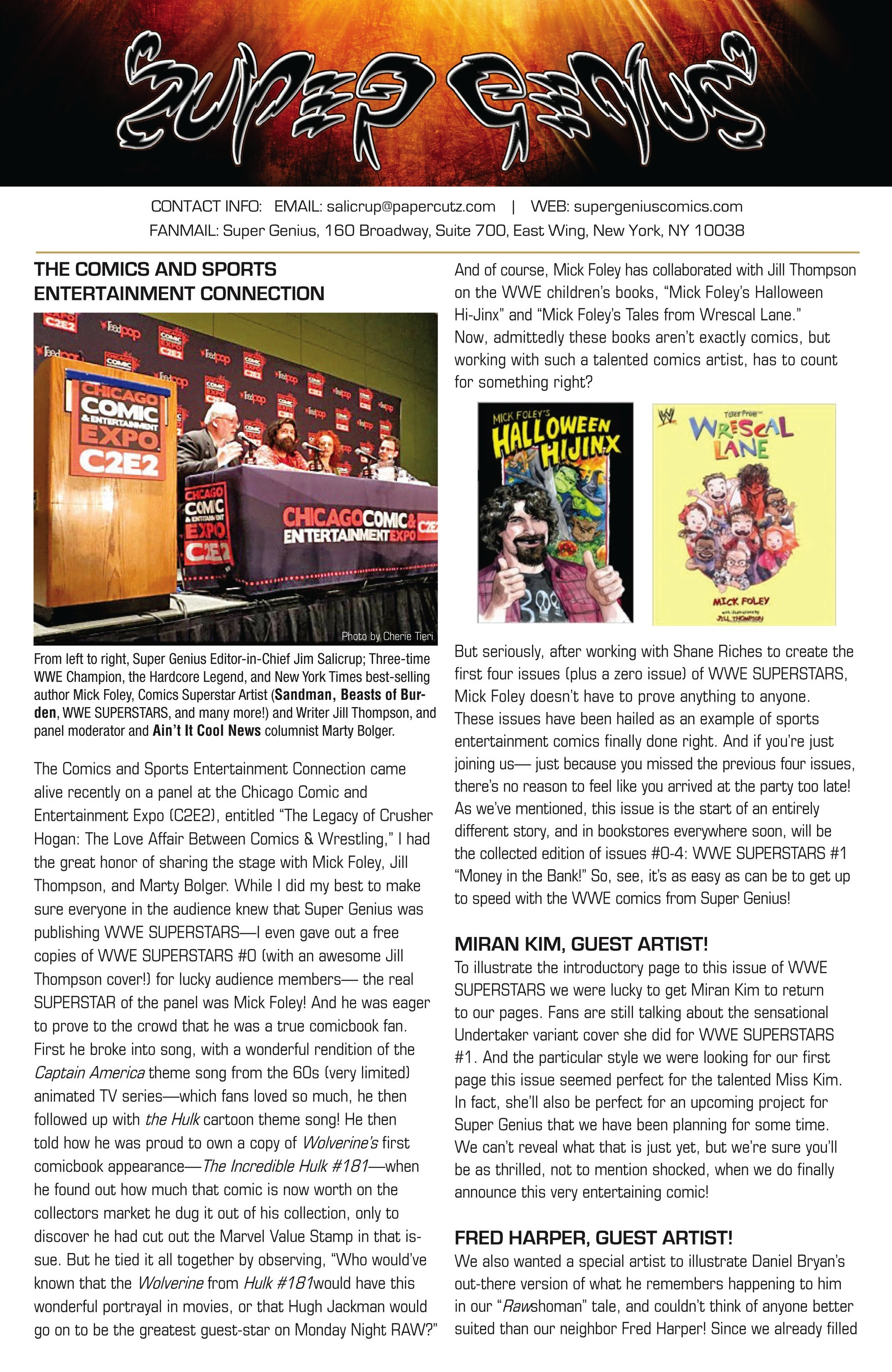 Read online WWE Superstars comic -  Issue #5 - 26